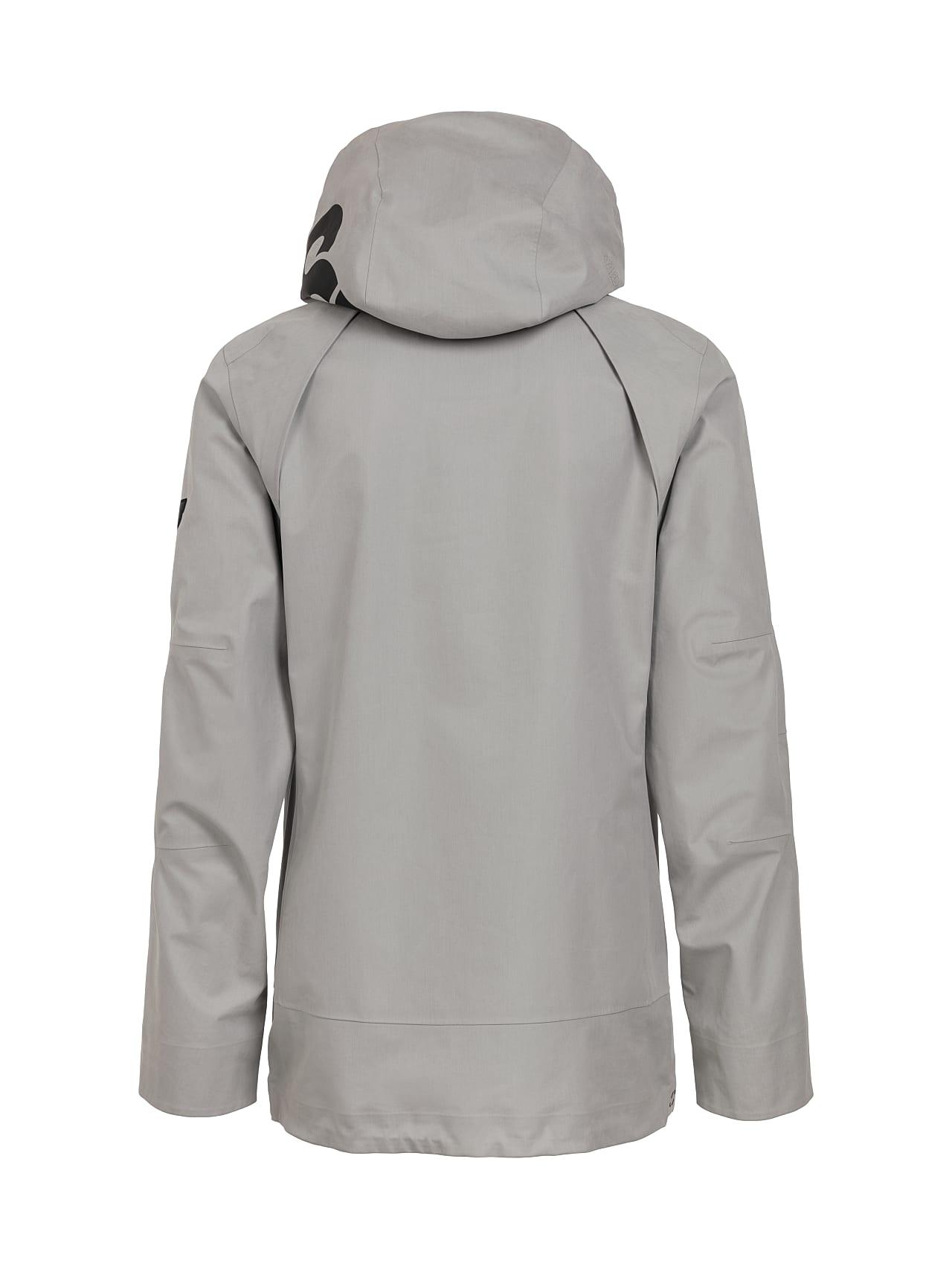 OSOOV V2.Y4.01 Technical 3-Layer Jacket with Taurex® light grey Left Alpha Tauri