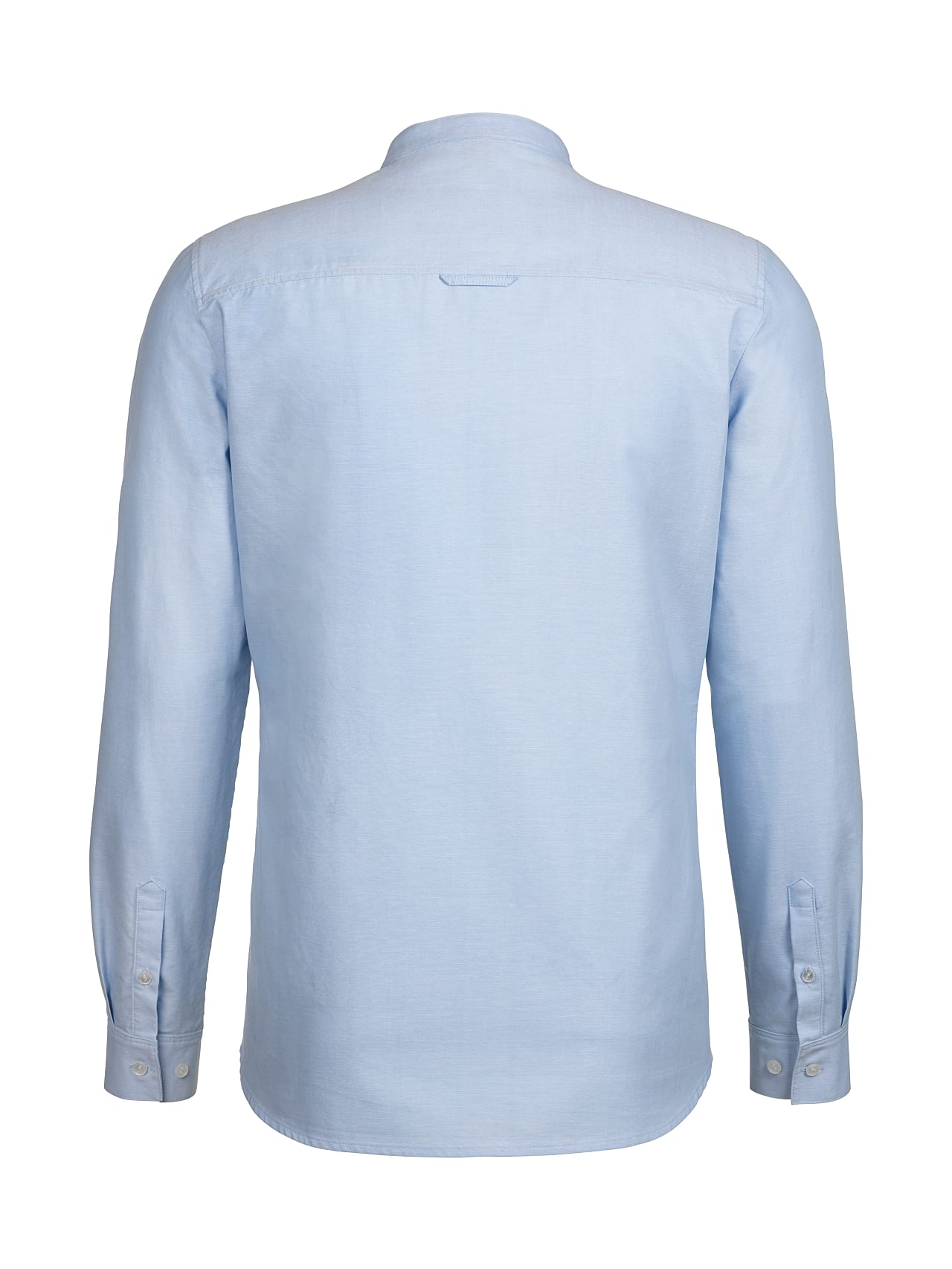 WIDT V8.Y4.01 Classic Oxford Shirt with Stand-up Collar light blue Left Alpha Tauri