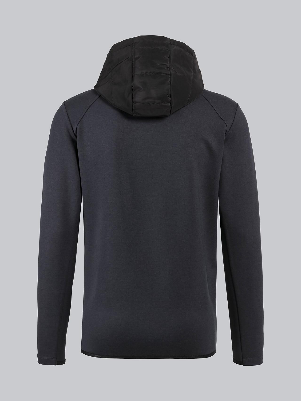 SERPA V1.Y4.02 Freedom of Movement Jacket dark grey / anthracite Left Alpha Tauri