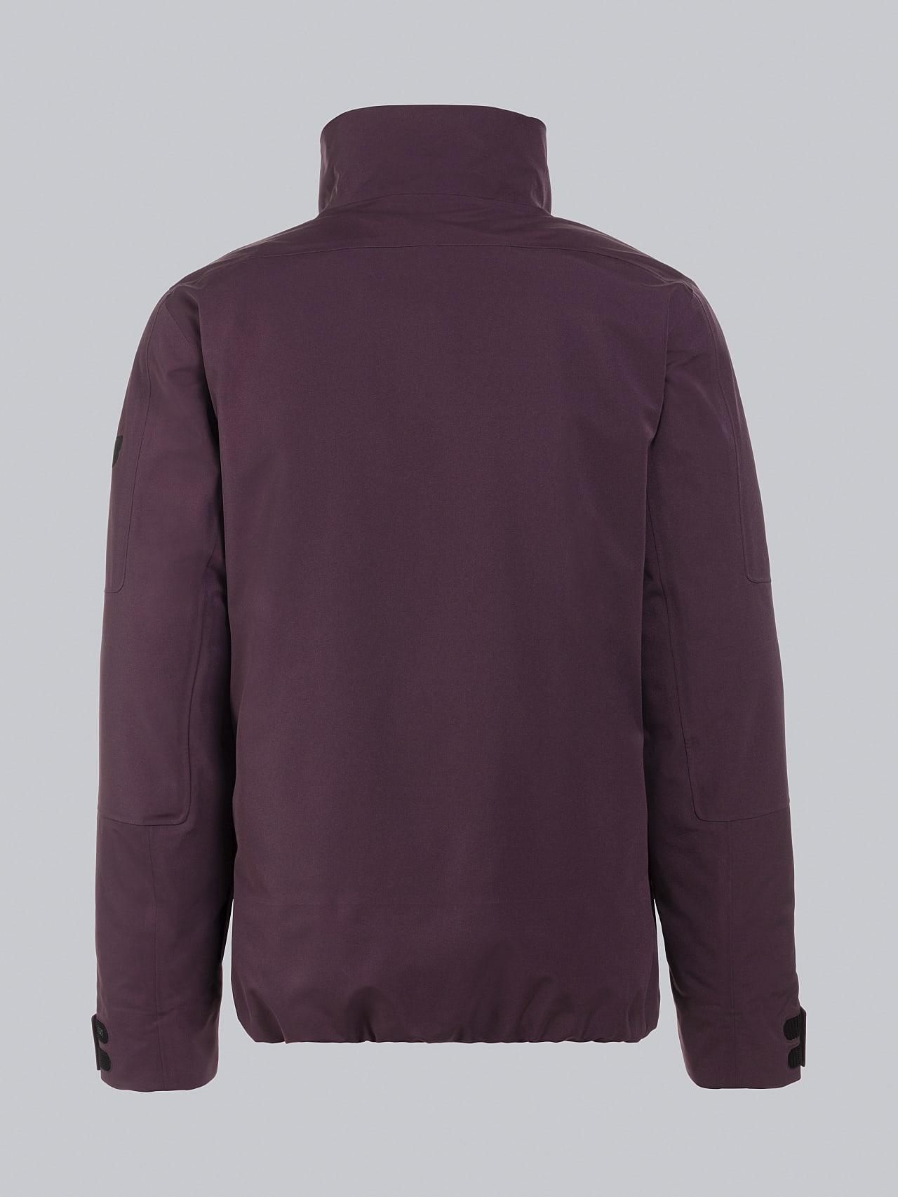 OKOVO V4.Y5.02 Packable and Waterproof Winter Jacket Burgundy Left Alpha Tauri