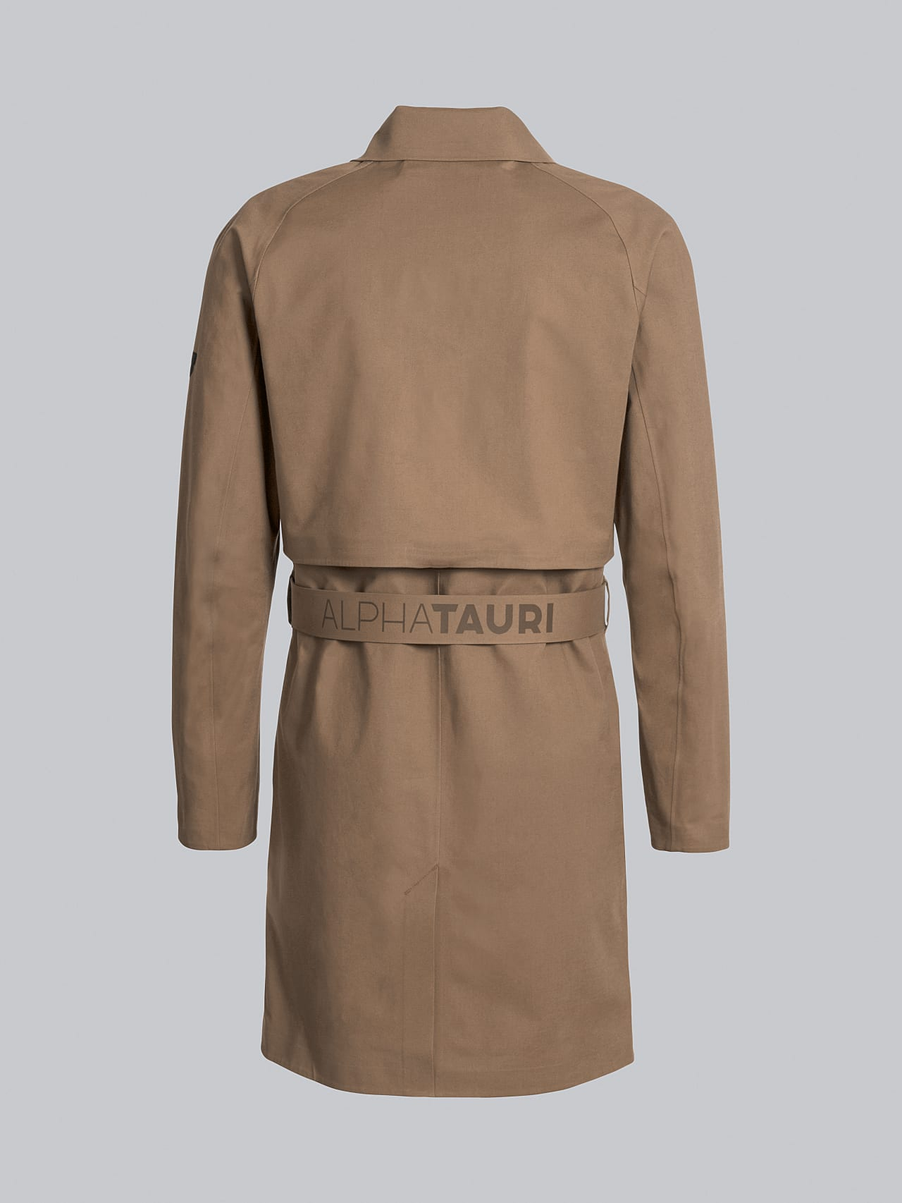 OMANA V1.Y5.02 Packable and Waterproof Trench Coat gold Left Alpha Tauri