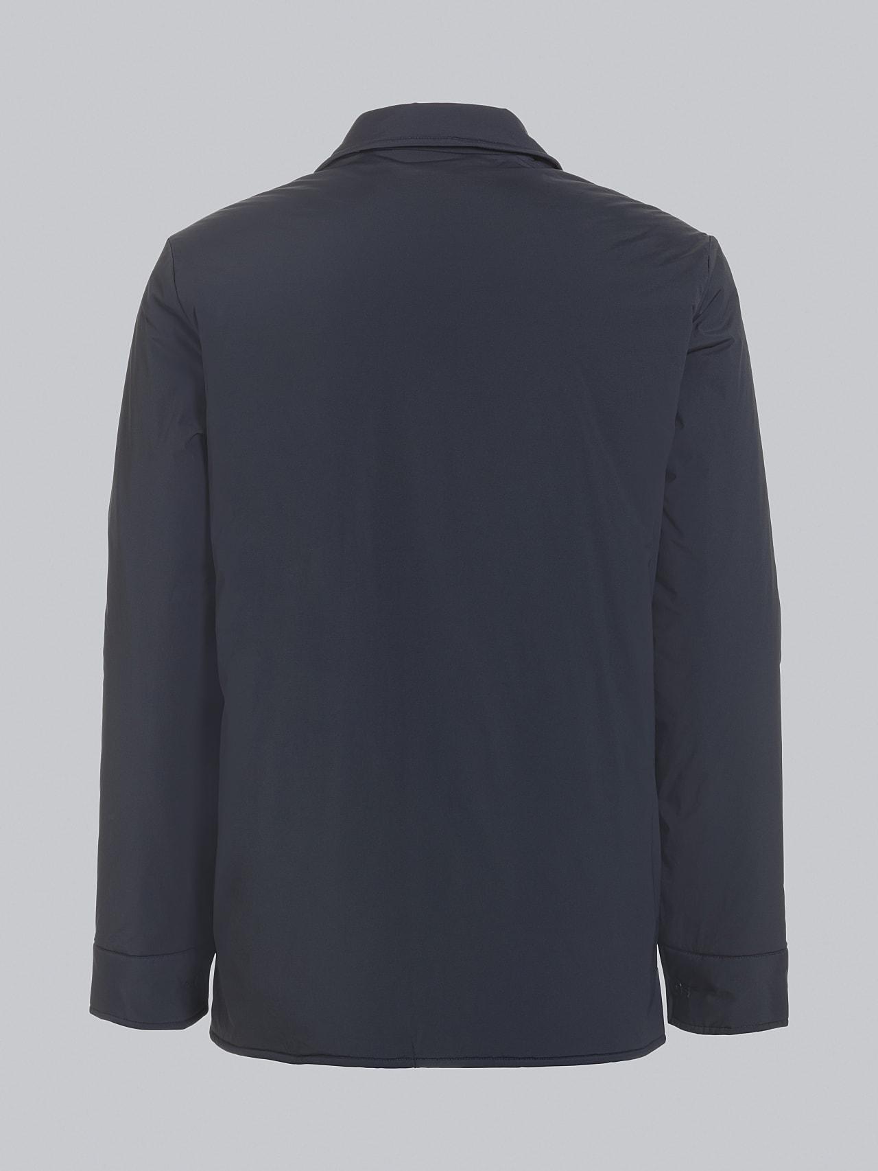 OVASU V1.Y5.02 PrimaLoft® Overshirt Jacket navy Left Alpha Tauri