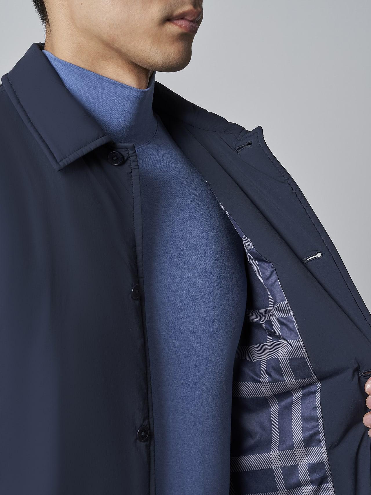 OVASU V1.Y5.02 PrimaLoft® Overshirt Jacket navy scene7.view.8.name Alpha Tauri