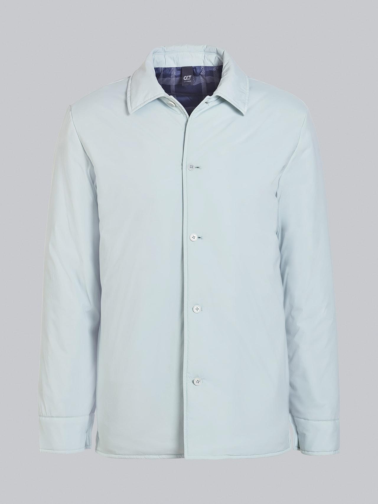 OVASU V1.Y5.02 PrimaLoft® Overshirt Jacket Pale Blue  Back Alpha Tauri