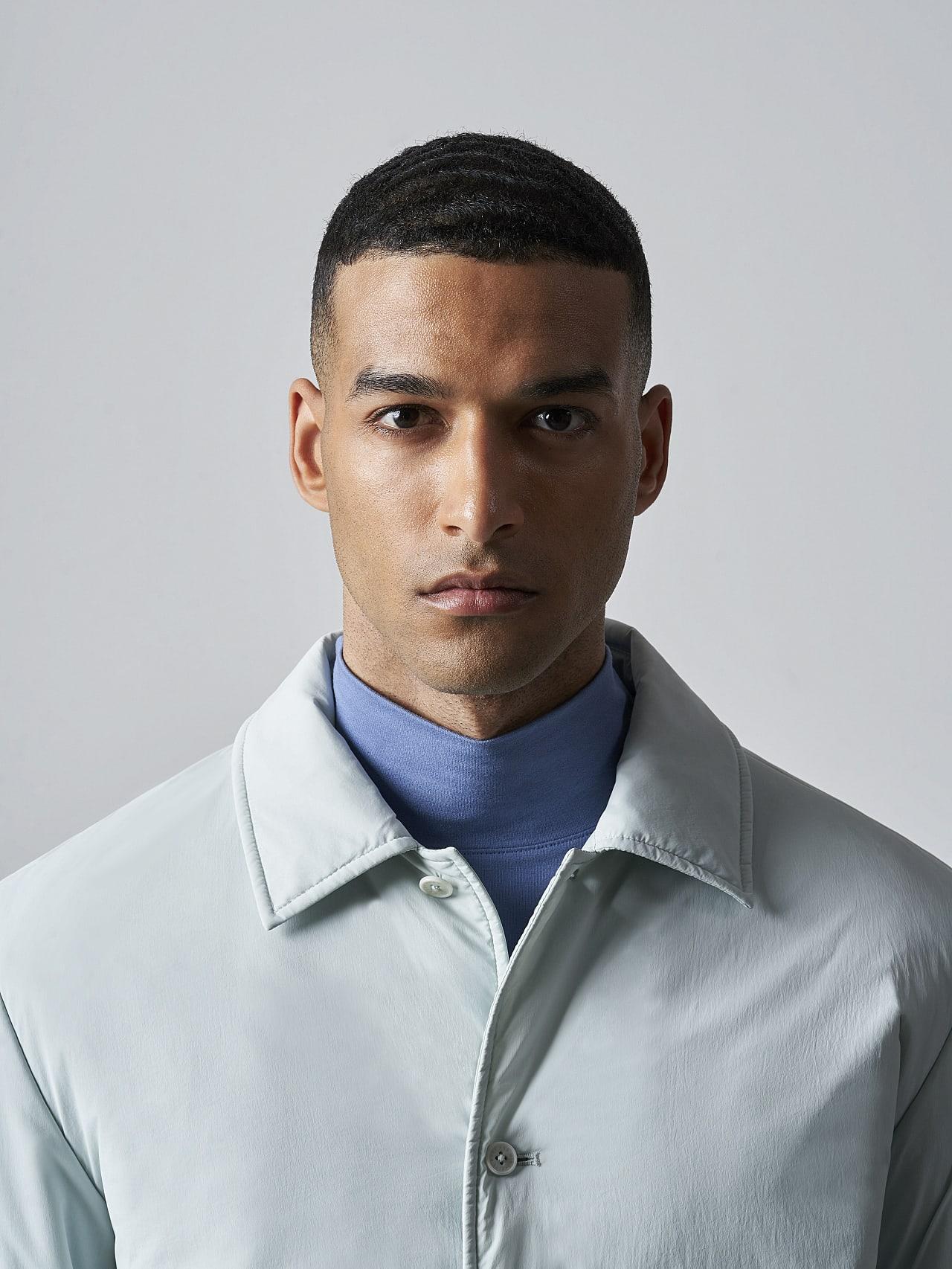 OVASU V1.Y5.02 PrimaLoft® Overshirt Jacket Pale Blue  Extra Alpha Tauri