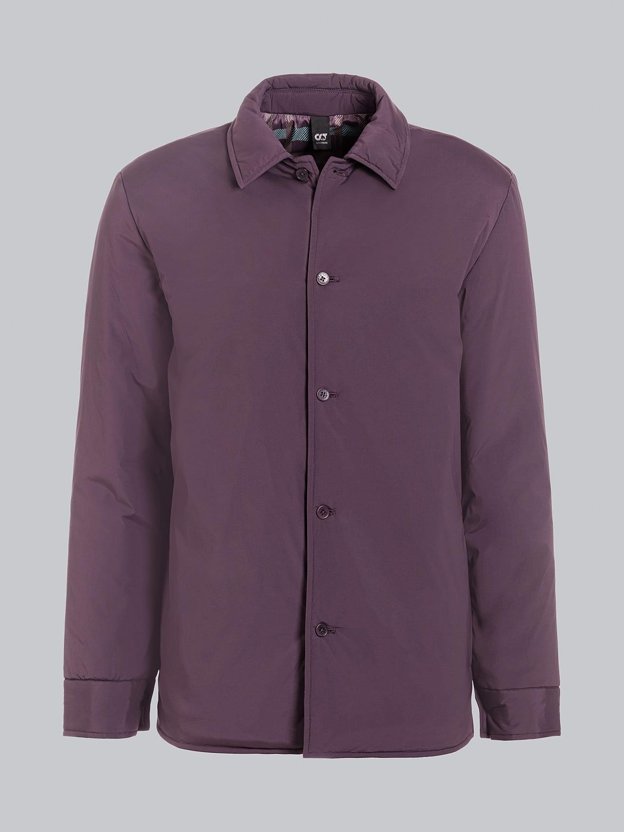 OVASU V1.Y5.02 PrimaLoft® Overshirt Jacket Burgundy Back Alpha Tauri