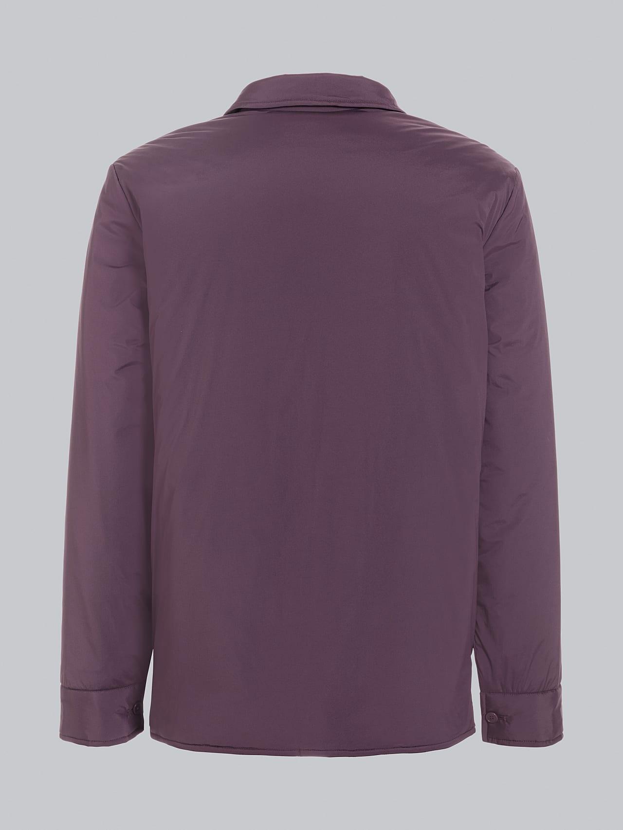 OVASU V1.Y5.02 PrimaLoft® Overshirt Jacket Burgundy Left Alpha Tauri