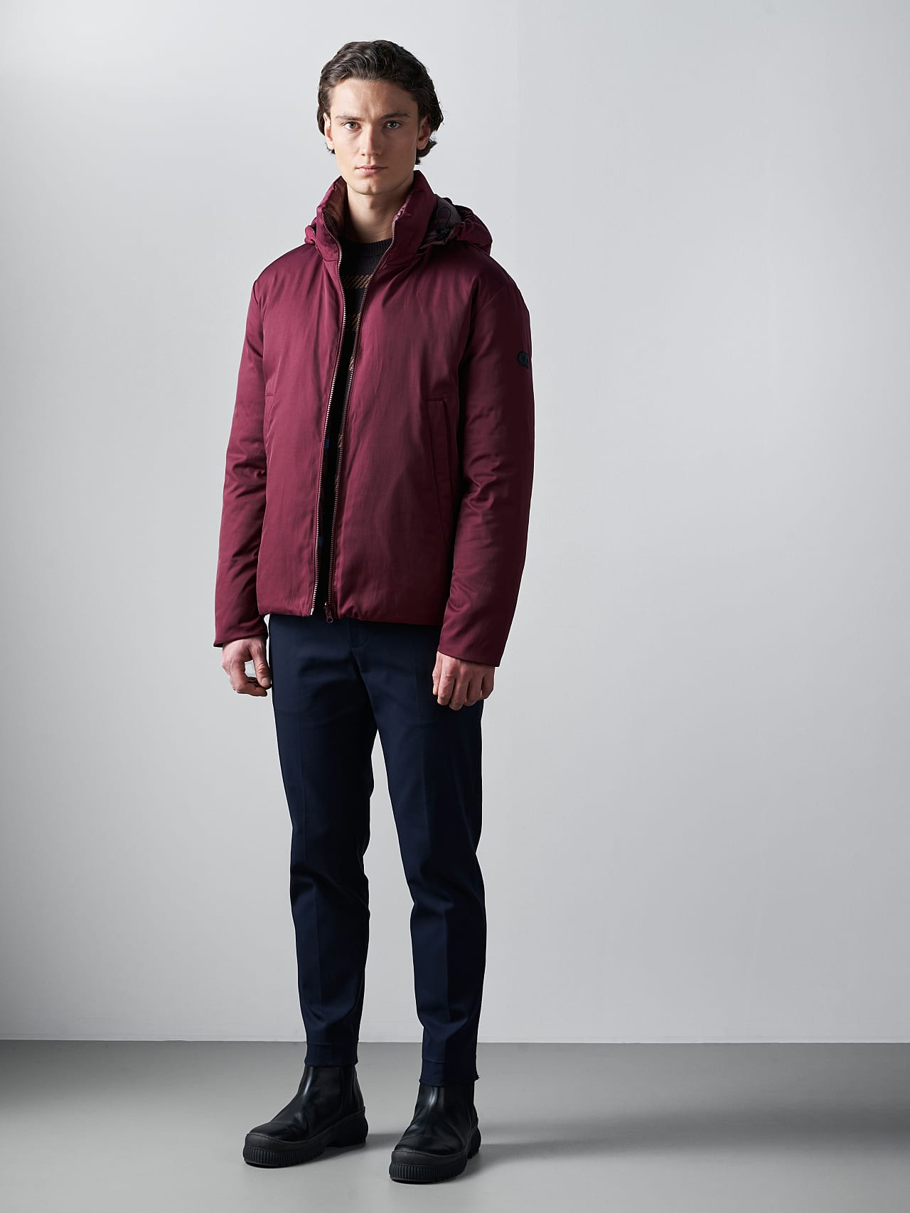 OTACE V1.Y5.02 Reversible 2-in-1 Puffer Jacket bordeaux Extra Alpha Tauri