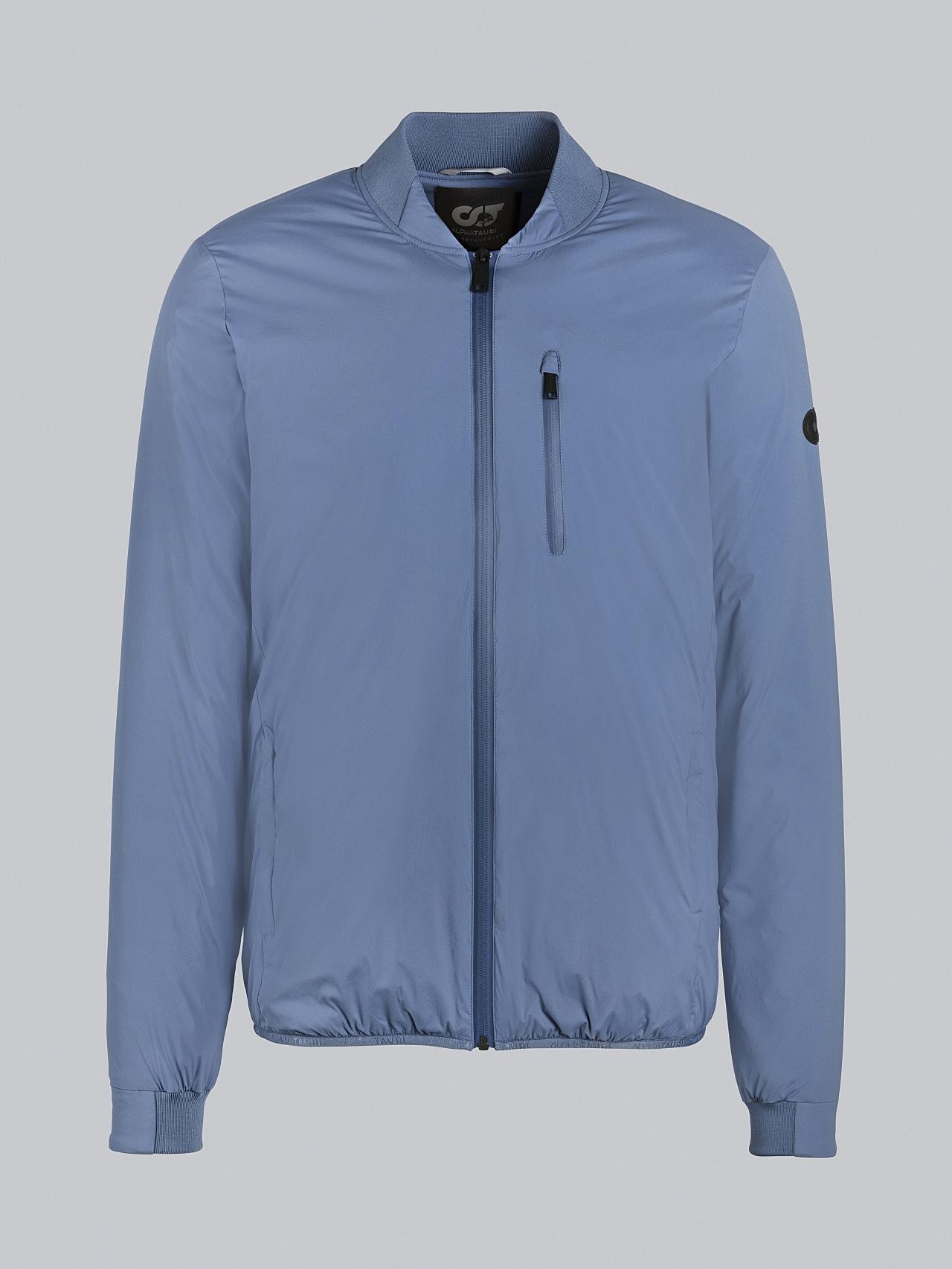 OPRIM V3.Y5.02 Padded PrimaLoft® Jacket light blue Back Alpha Tauri