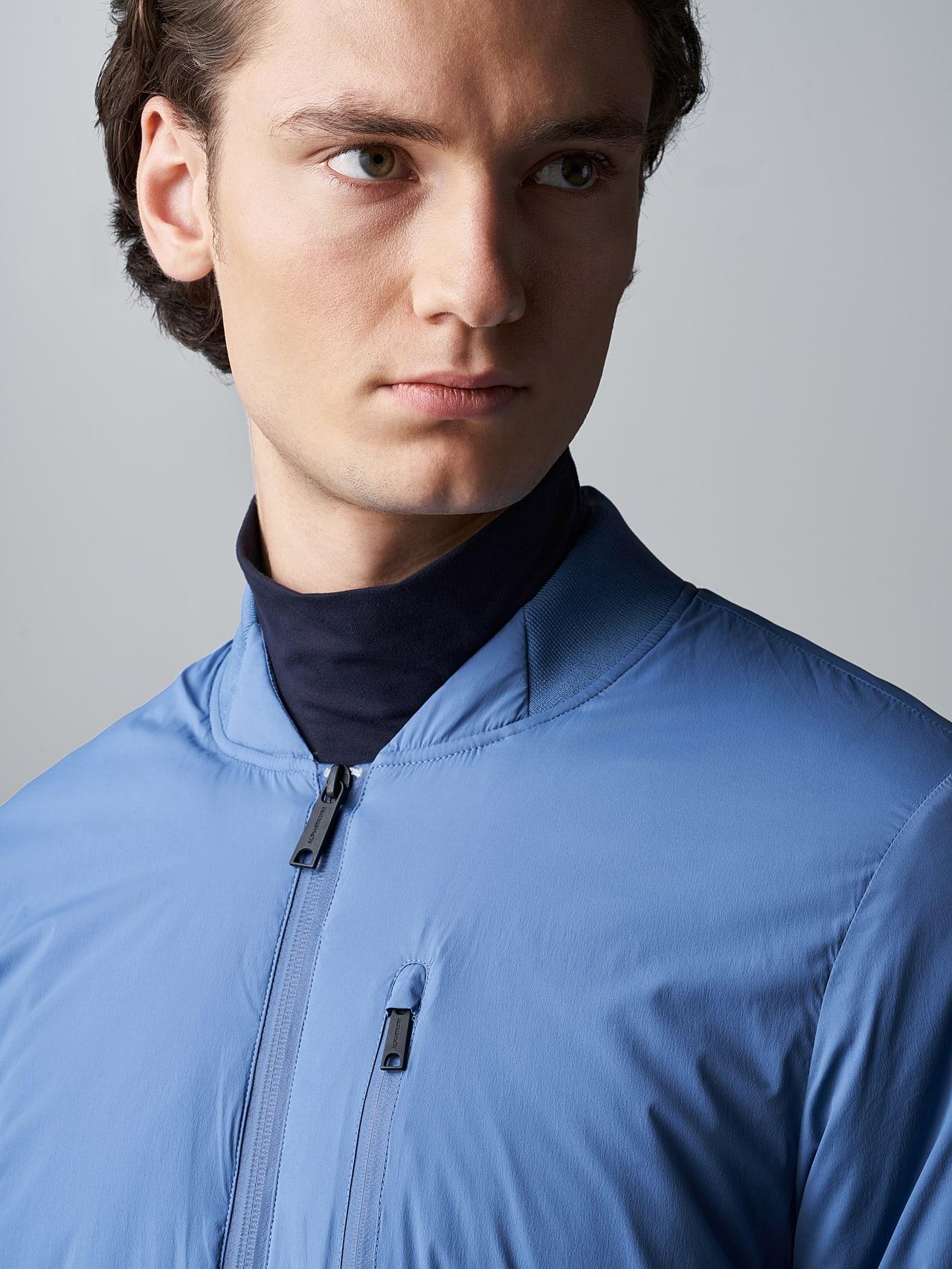 OPRIM V3.Y5.02 Padded PrimaLoft® Jacket light blue Right Alpha Tauri
