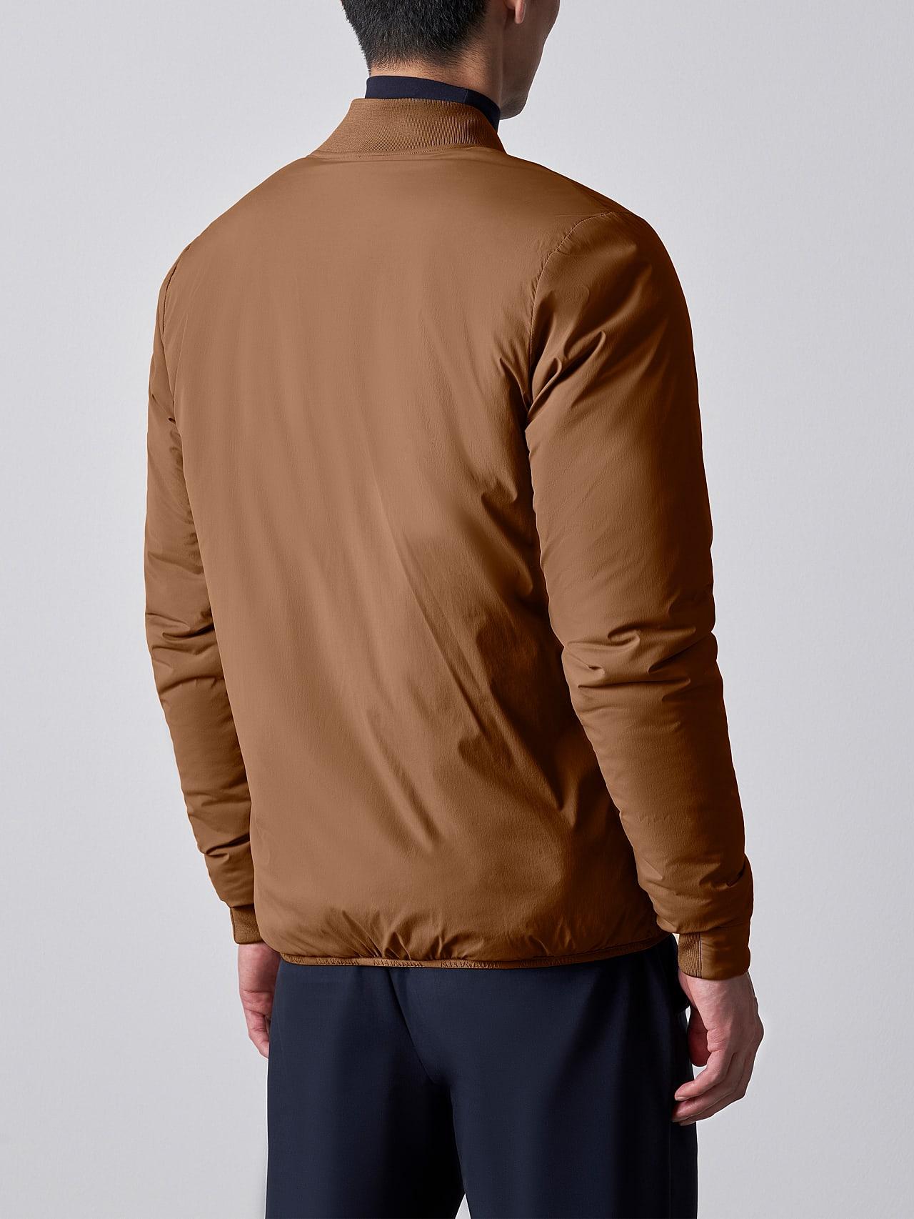 OPRIM V3.Y5.02 Padded PrimaLoft® Jacket gold Front Main Alpha Tauri