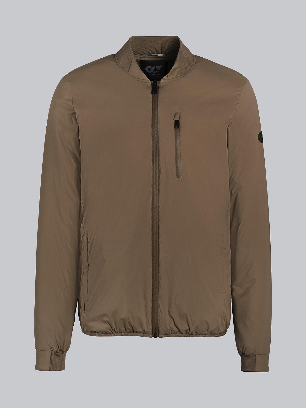 OPRIM V3.Y5.02 Padded PrimaLoft® Jacket gold Back Alpha Tauri