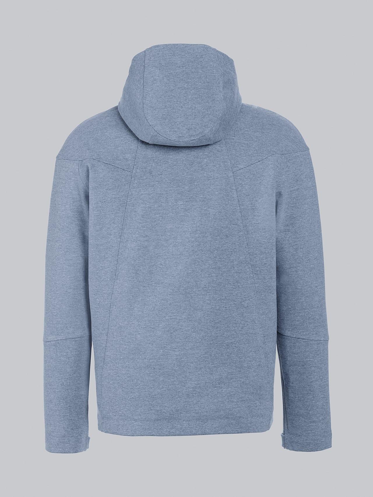 SROTE V1.Y5.02 Waterproof Sweatjacket medium blue Left Alpha Tauri