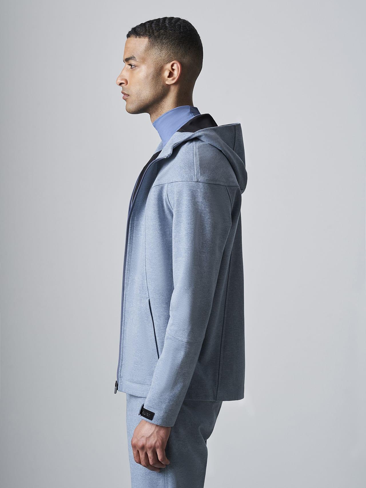 SROTE V1.Y5.02 Waterproof Sweatjacket medium blue Extra Alpha Tauri