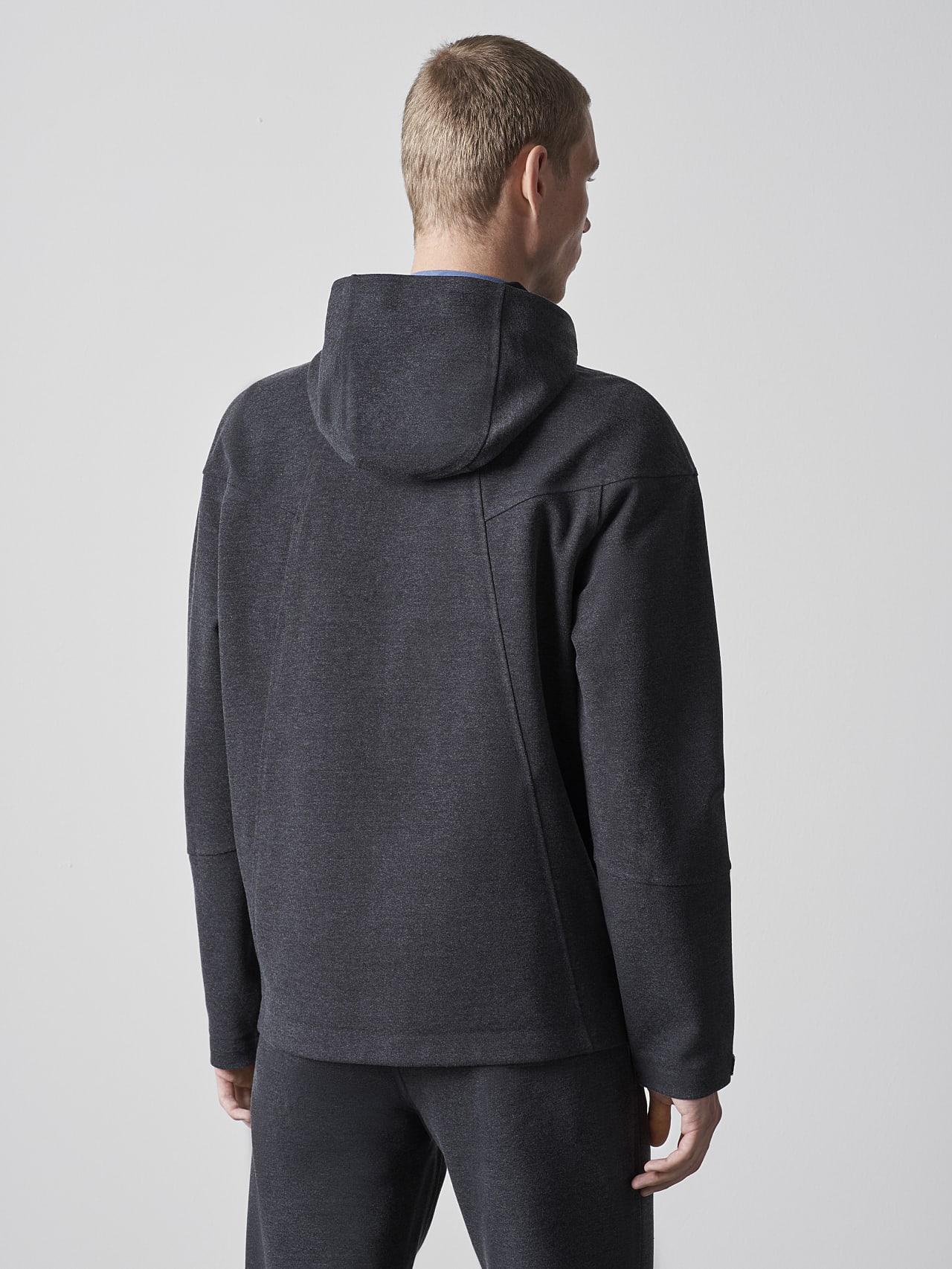 SROTE V1.Y5.02 Waterproof Sweatjacket dark grey / anthracite Front Main Alpha Tauri