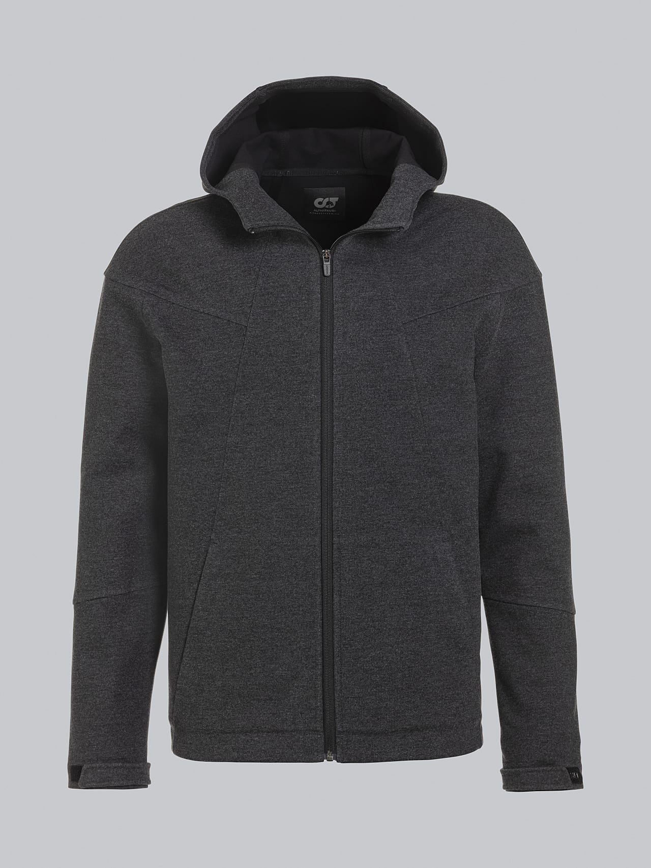 SROTE V1.Y5.02 Waterproof Sweatjacket dark grey / anthracite Back Alpha Tauri
