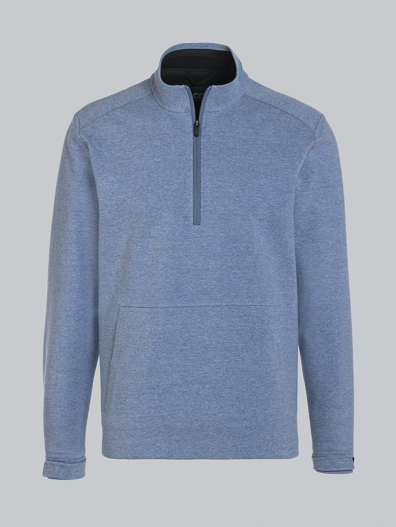 SROTO V1.Y5.02 Waterproof Half-Zip Sweatshirt medium blue Back Alpha Tauri