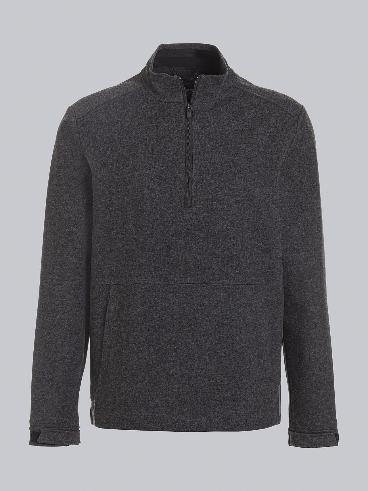 SROTO V1.Y5.02 Waterproof Half-Zip Sweatshirt dark grey / anthracite Back Alpha Tauri