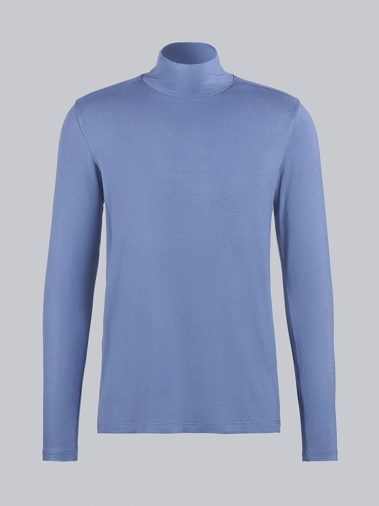 SIJUX V1.Y5.02 Funnel Neck Longsleeve light blue Back Alpha Tauri