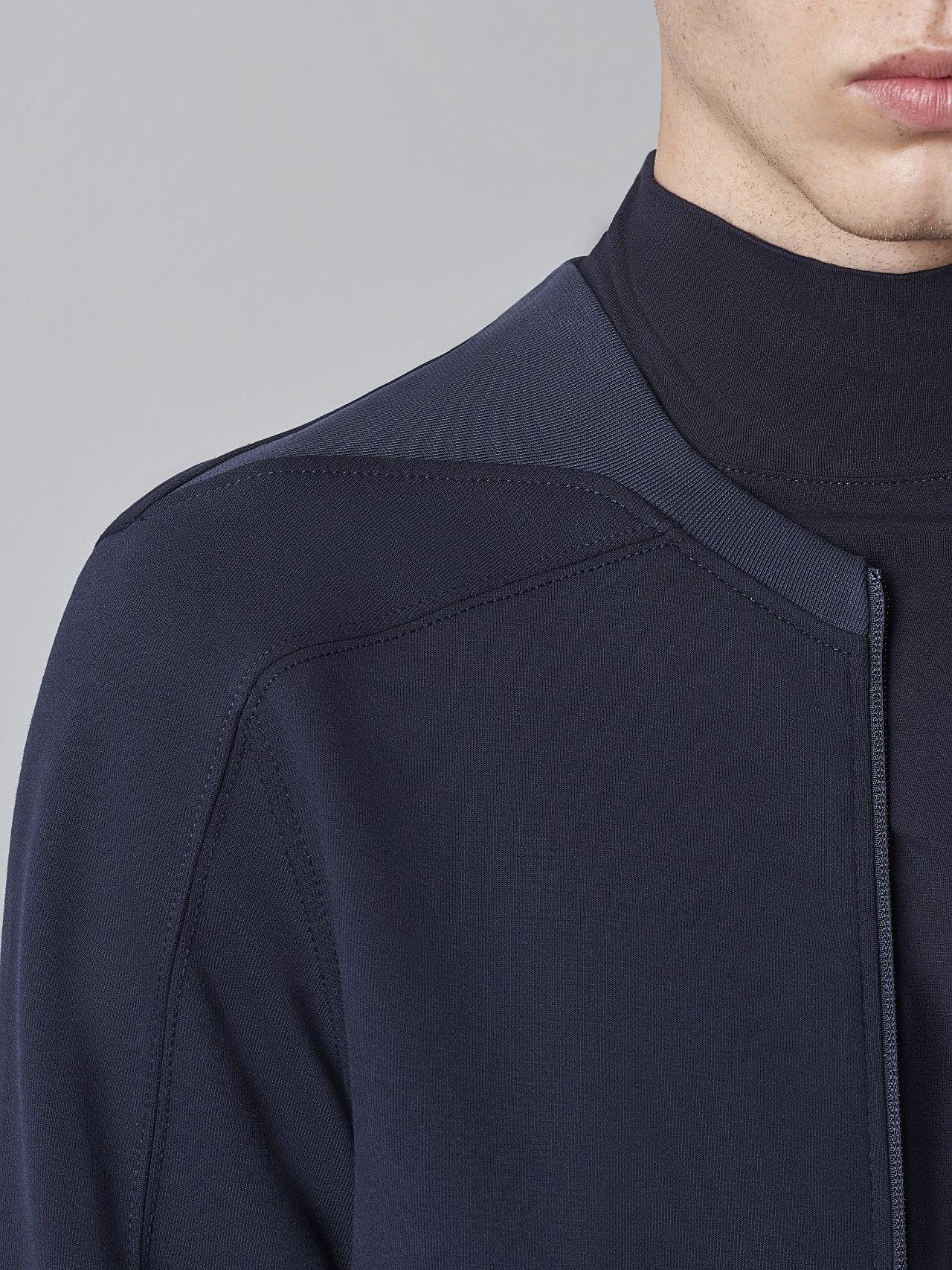 SCOJA V4.Y5.02 Premium Sweat Zip-Jacket navy Right Alpha Tauri