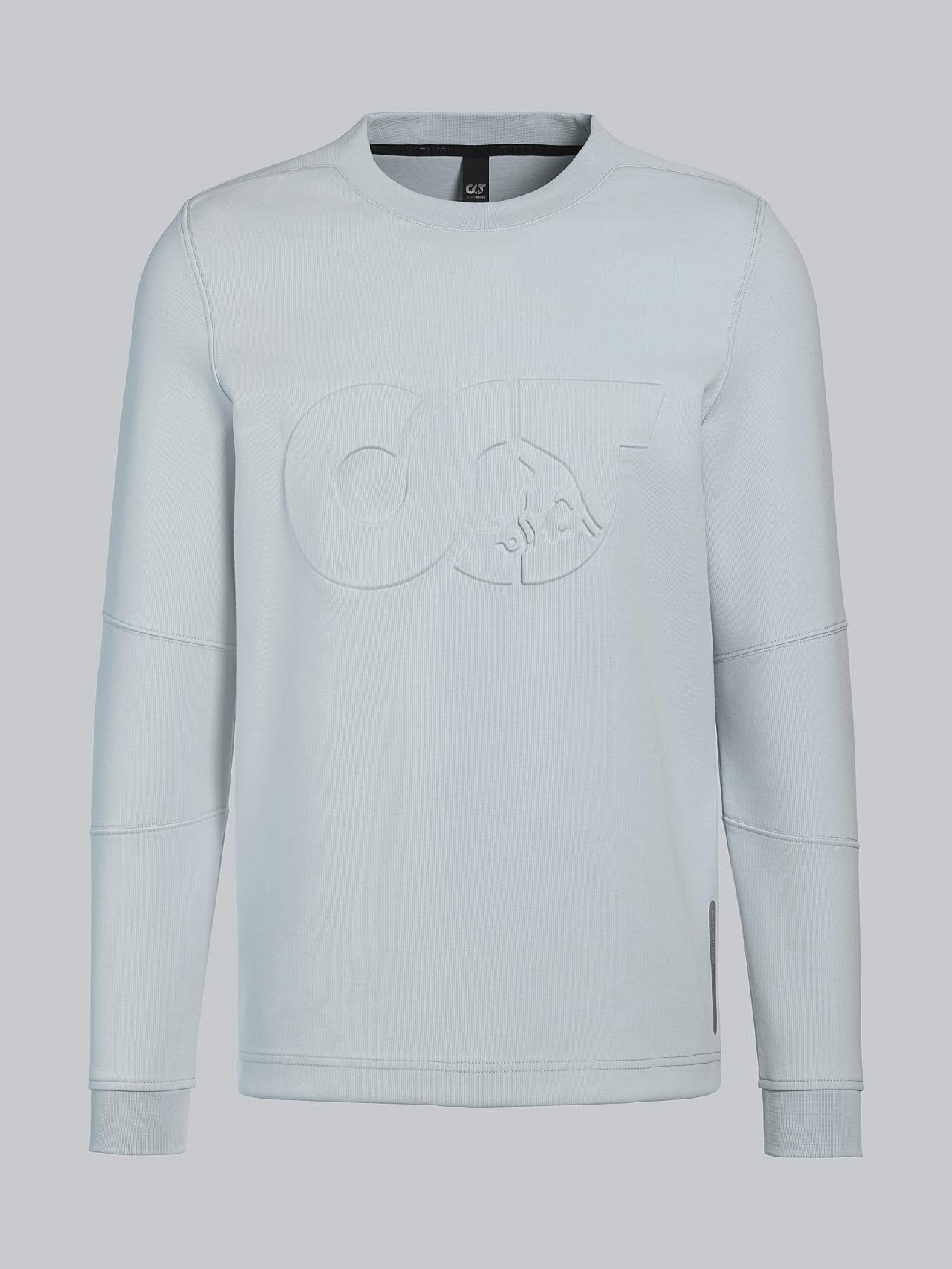 SCONA V1.Y5.02 Premium Sweatshirt Blass Blau Hinten Alpha Tauri