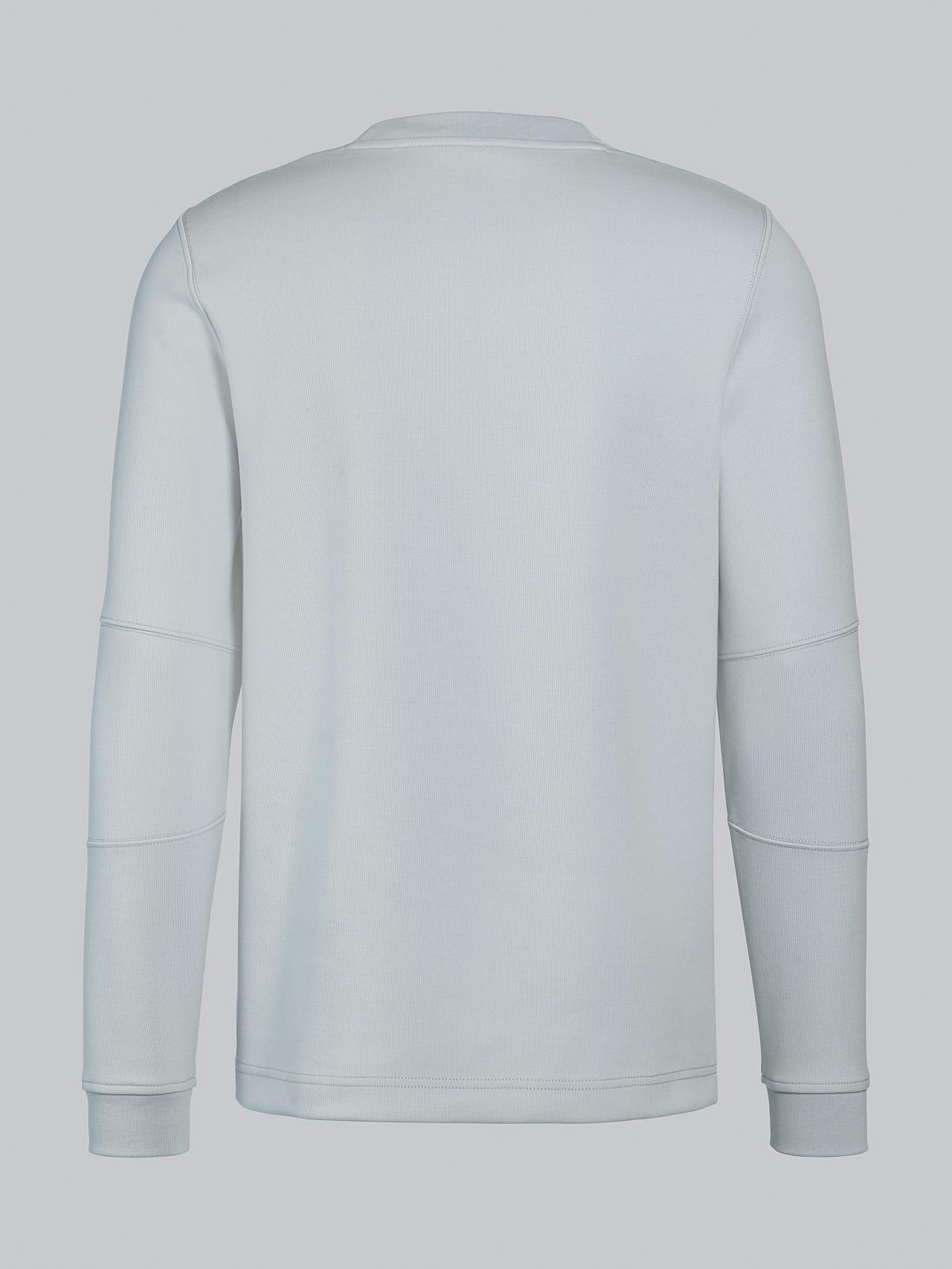 SCONA V1.Y5.02 Premium Sweatshirt Blass Blau Links Alpha Tauri