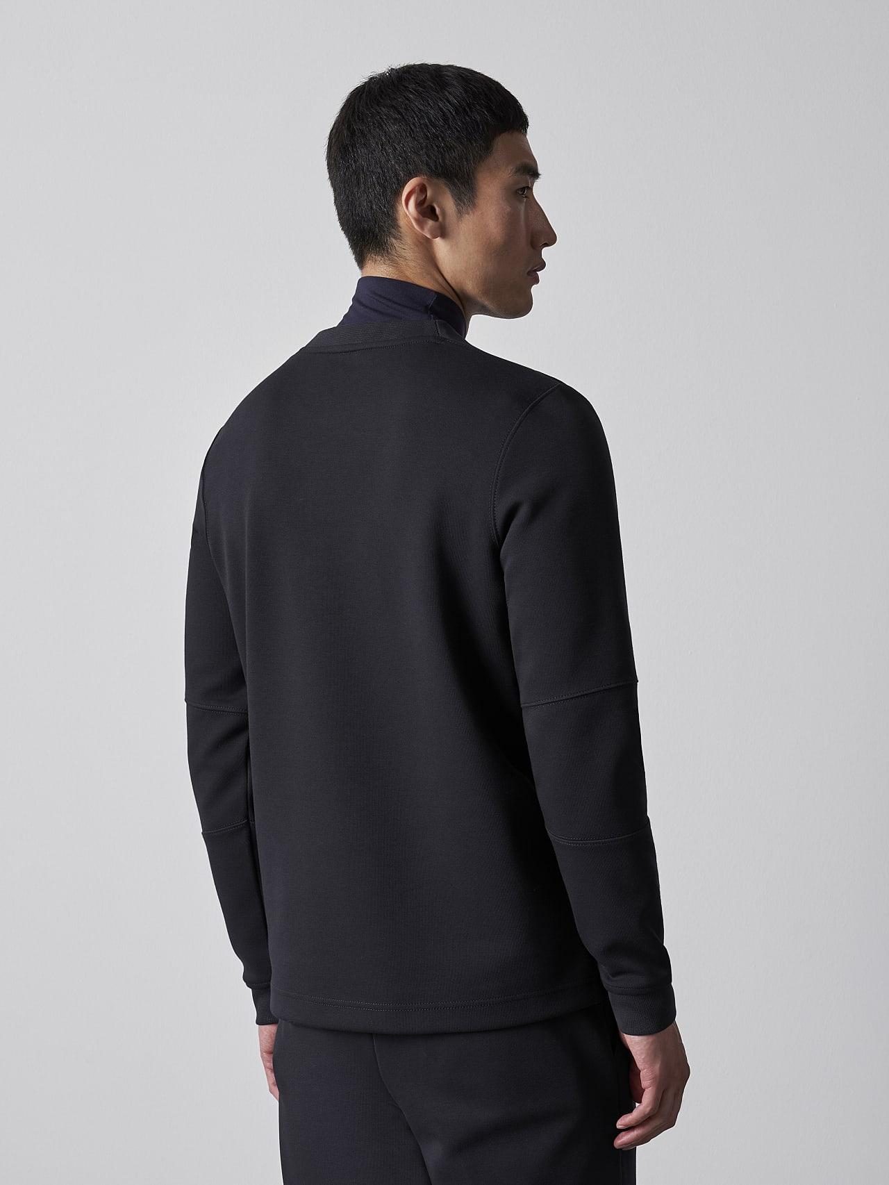 SCONA V1.Y5.02 Premium Sweatshirt black Front Main Alpha Tauri
