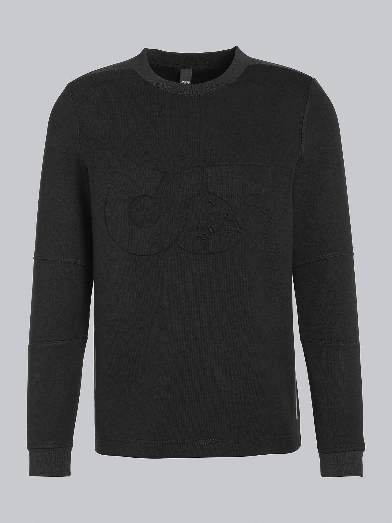 SCONA V1.Y5.02 Premium Sweatshirt black Back Alpha Tauri
