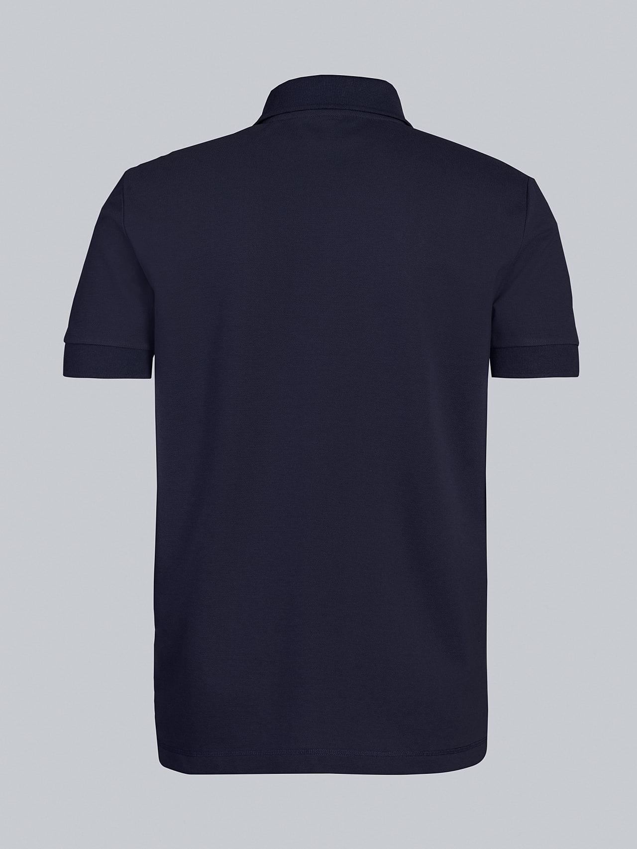 JANX V5.Y5.02 Pique Polo Shirt navy Left Alpha Tauri