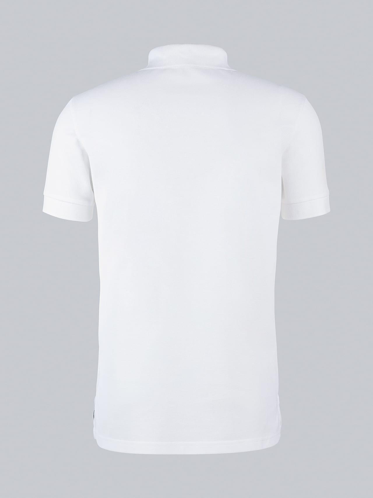 JANX V5.Y5.02 Pique Polo Shirt offwhite Left Alpha Tauri