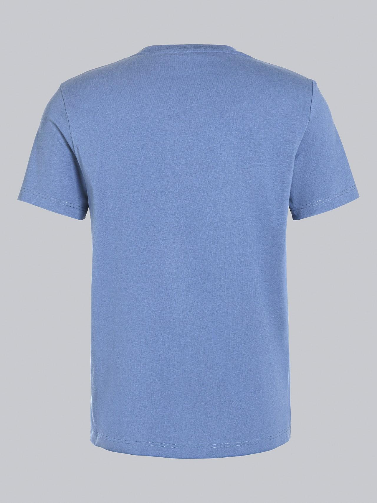 JABIS V1.Y5.02 Logo Print T-Shirt light blue Left Alpha Tauri