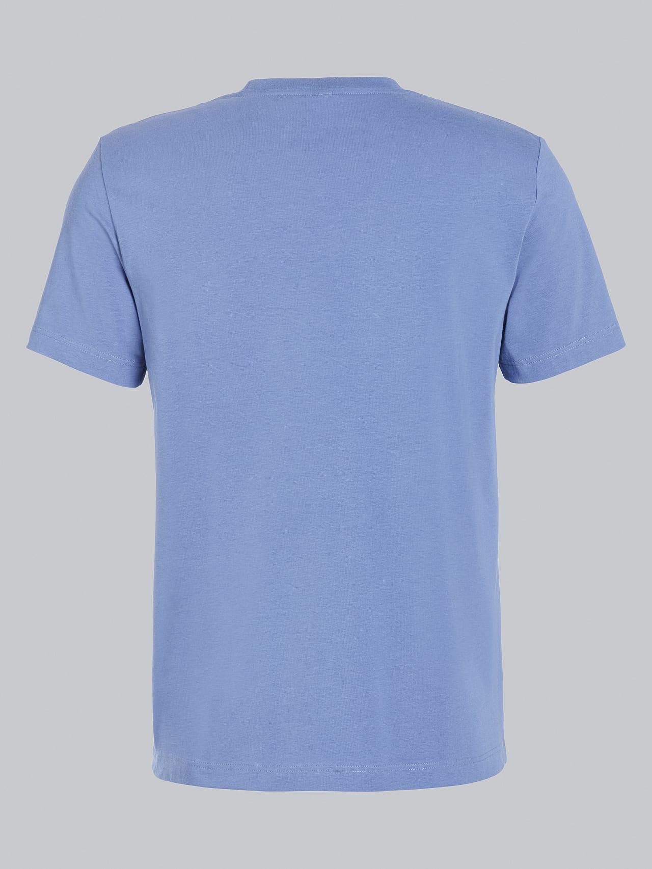 JANOS V3.Y5.02 Logo Embroidery T-Shirt light blue Left Alpha Tauri