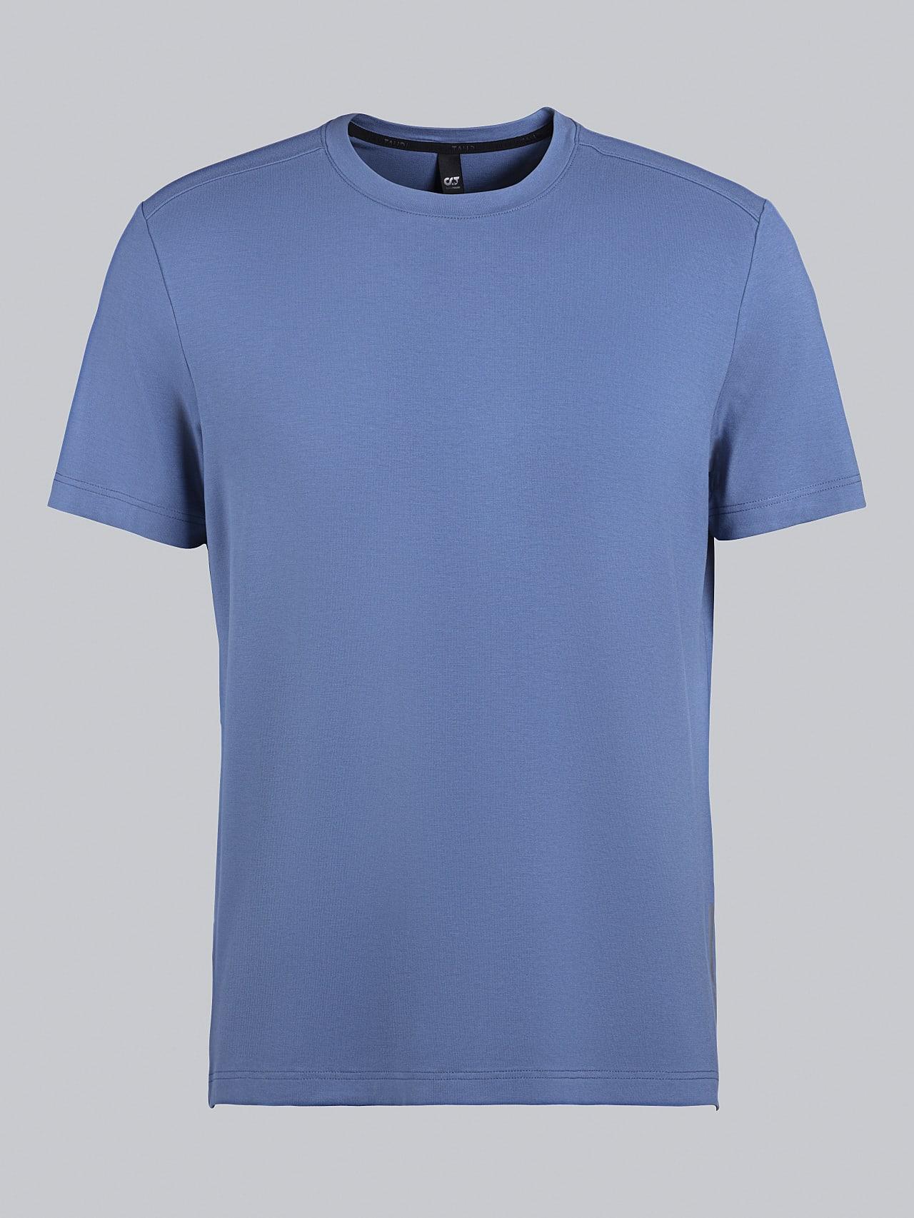 JANUE V1.Y5.02 Viscose T-Shirt light blue Back Alpha Tauri
