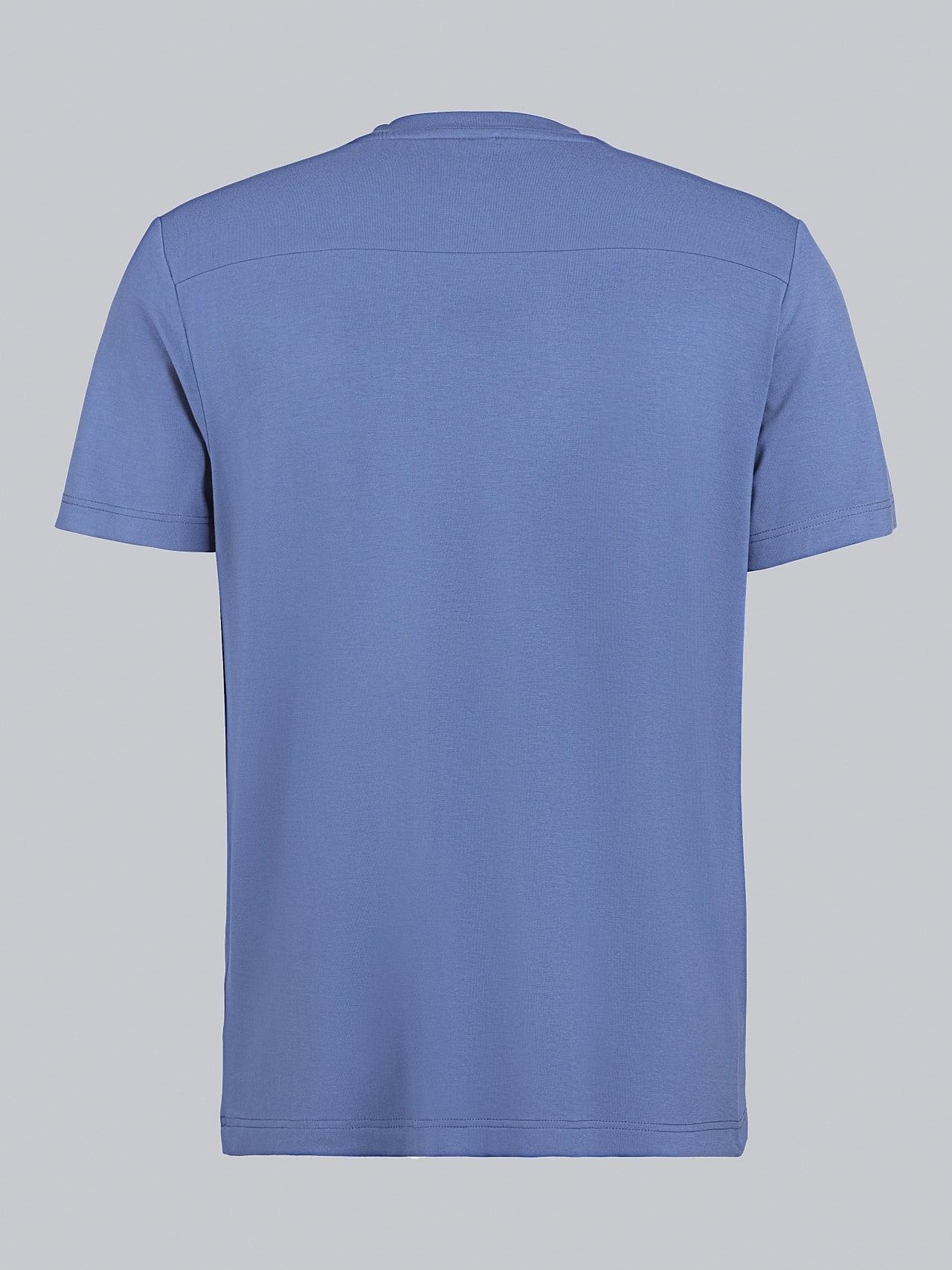 JANUE V1.Y5.02 Viscose T-Shirt light blue Left Alpha Tauri
