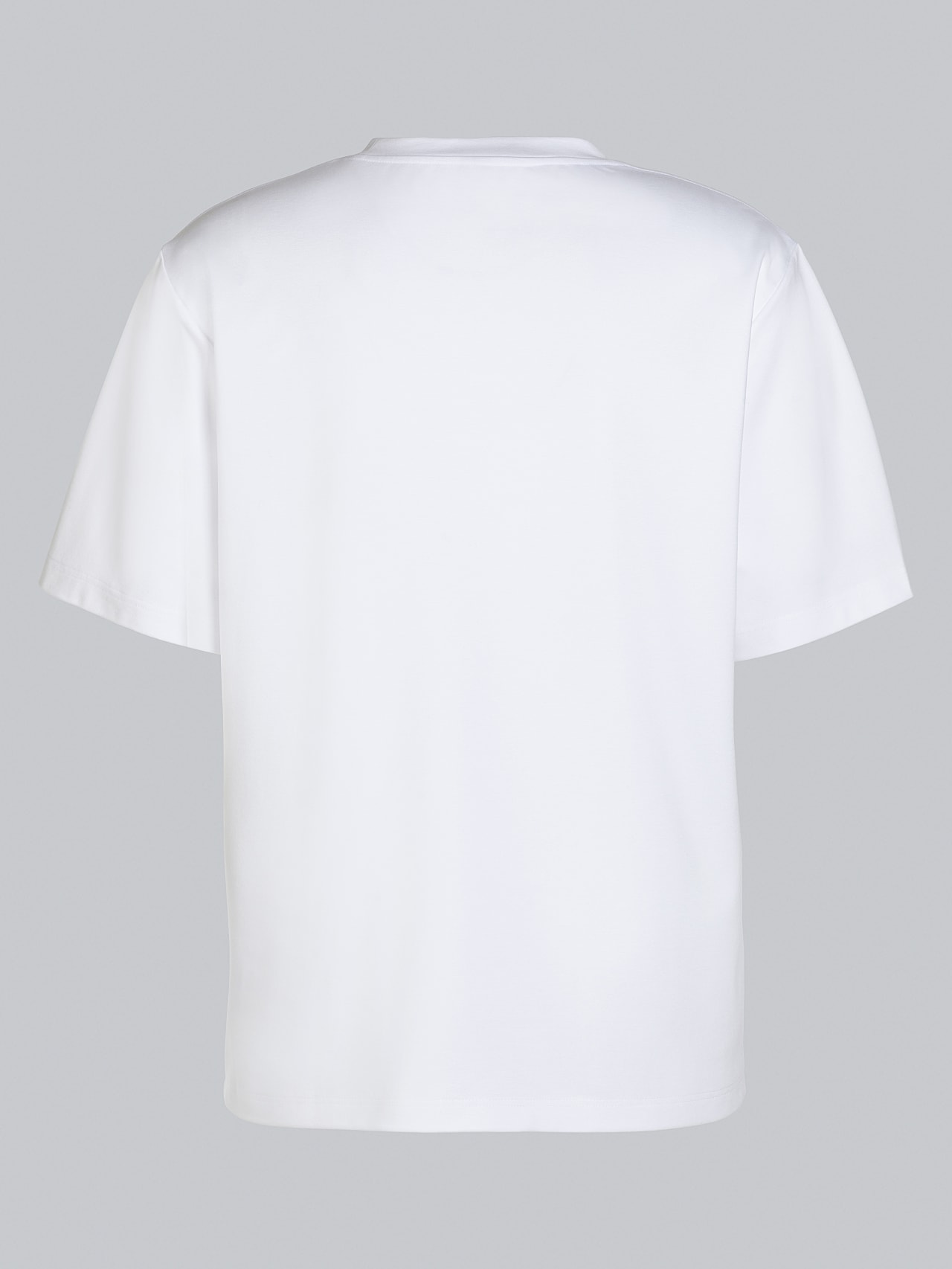 JAHEV V1.Y5.02 Relaxed Logo T-Shirt white Left Alpha Tauri