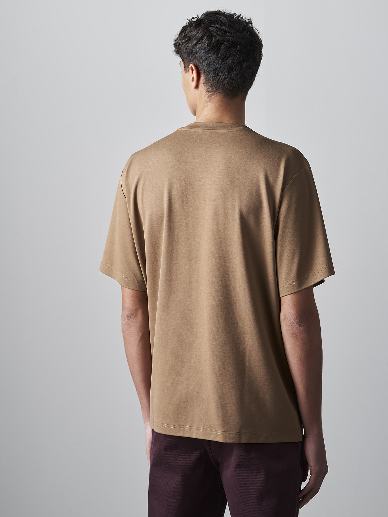 JAHEV V1.Y5.02 Relaxed Logo T-Shirt gold Front Main Alpha Tauri