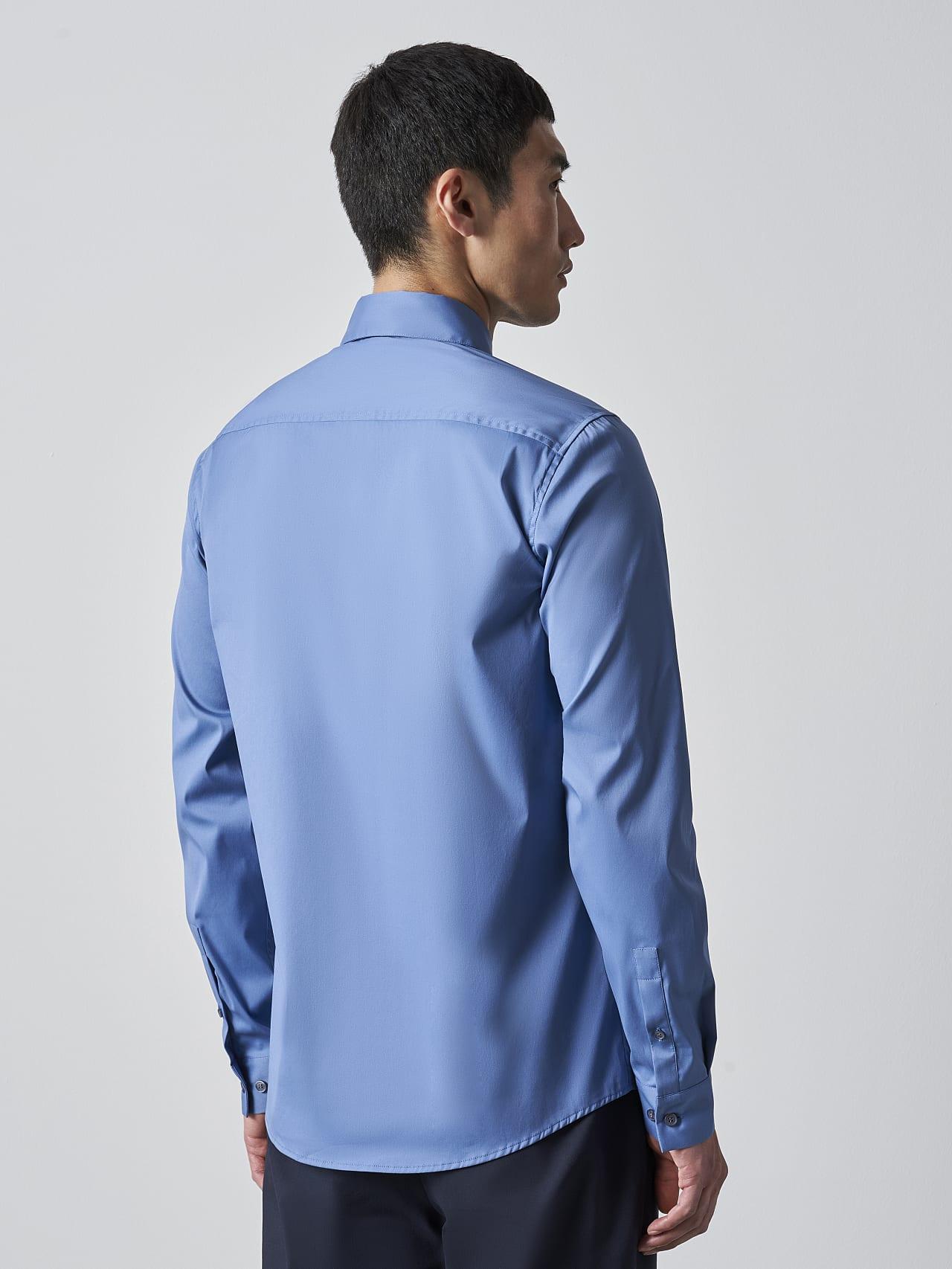 WAARG V2.Y5.02 Easy-Care Cotton Shirt light blue Front Main Alpha Tauri