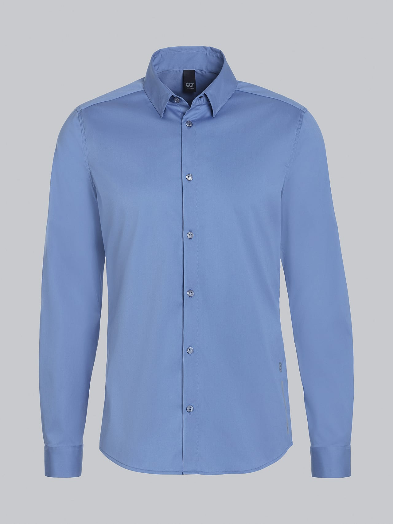 WAARG V2.Y5.02 Easy-Care Cotton Shirt light blue Back Alpha Tauri