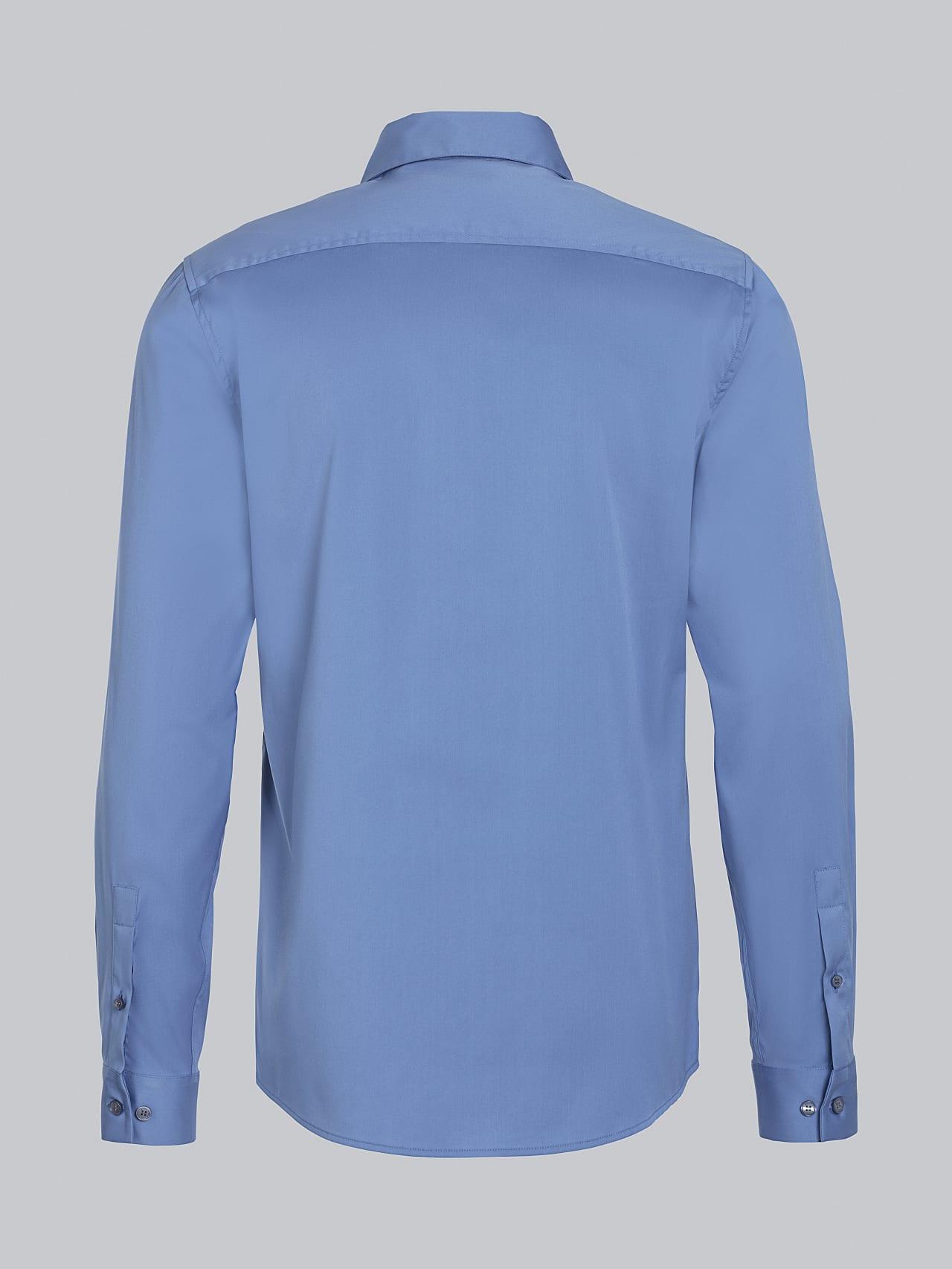 WAARG V2.Y5.02 Easy-Care Cotton Shirt light blue Left Alpha Tauri