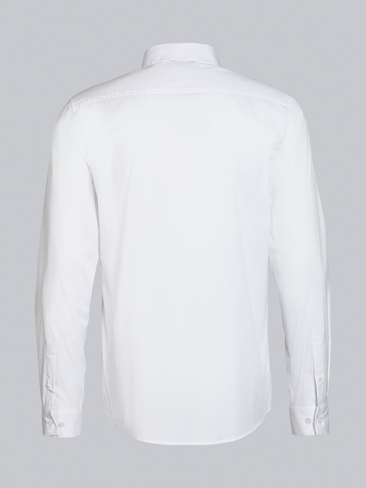 WAARG V2.Y5.02 Easy-Care Cotton Shirt white Left Alpha Tauri