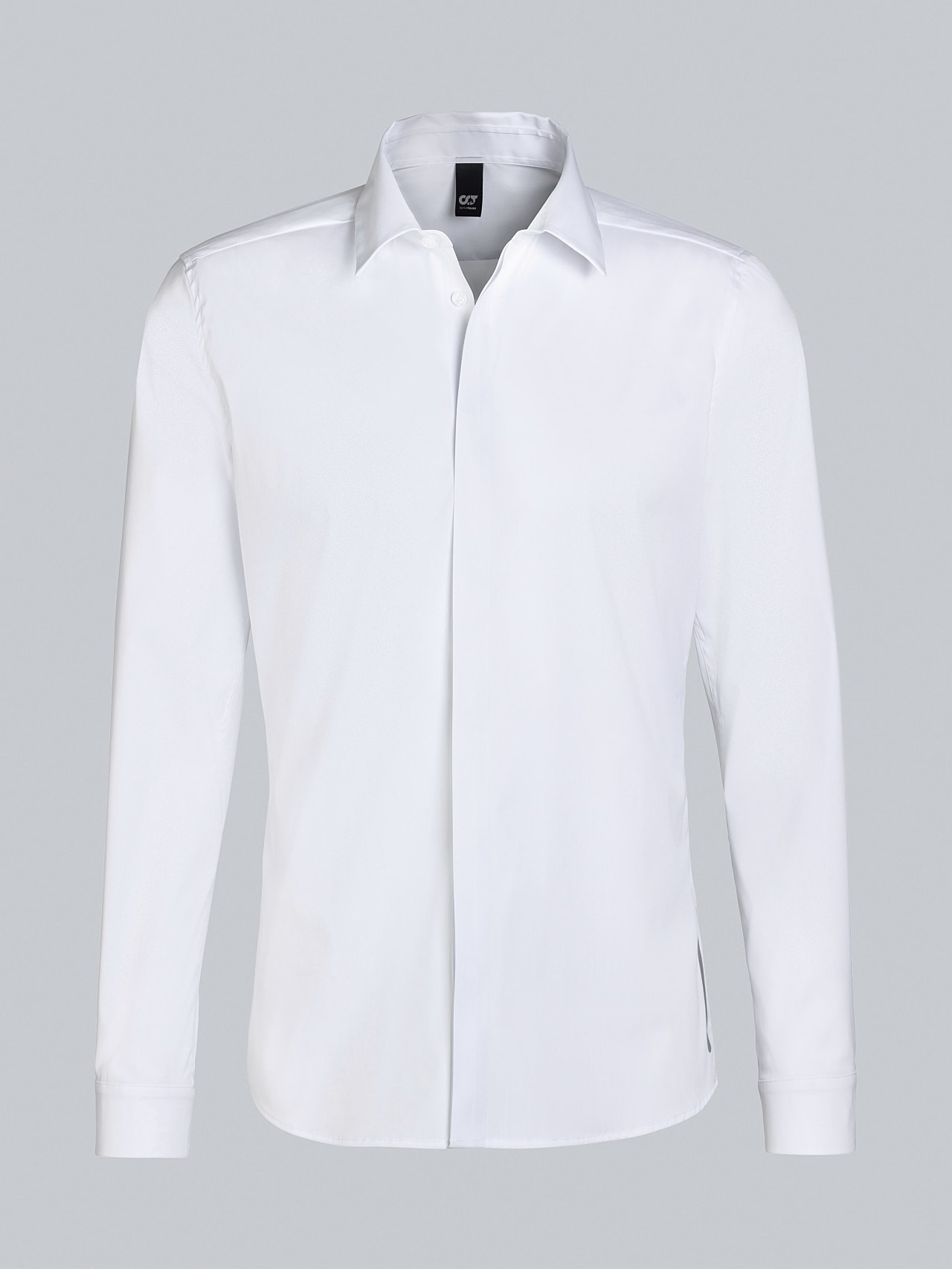 WAMNE V1.Y5.02 Easy-Care Shirt white Back Alpha Tauri