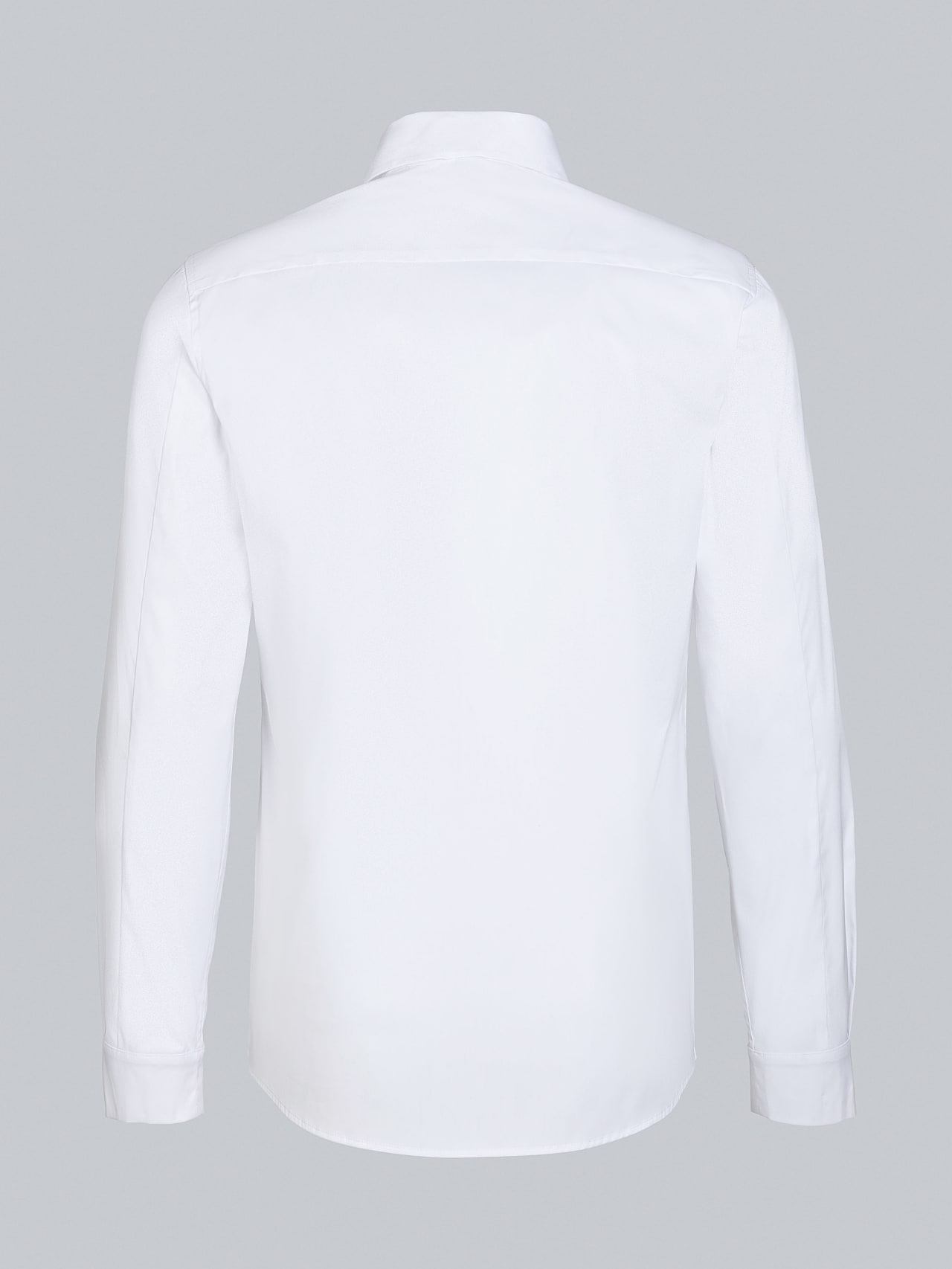 WAMNE V1.Y5.02 Easy-Care Shirt white Left Alpha Tauri