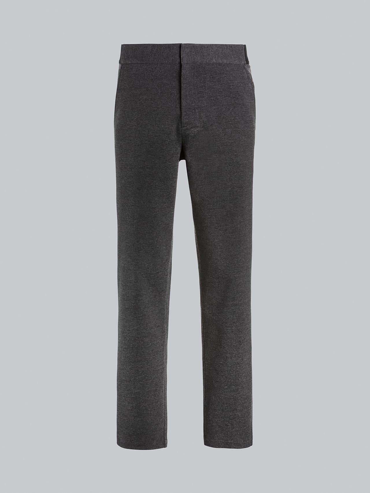 PRINO V2.Y5.02 Cropped Waterproof Sweat Pants dark grey / anthracite Back Alpha Tauri