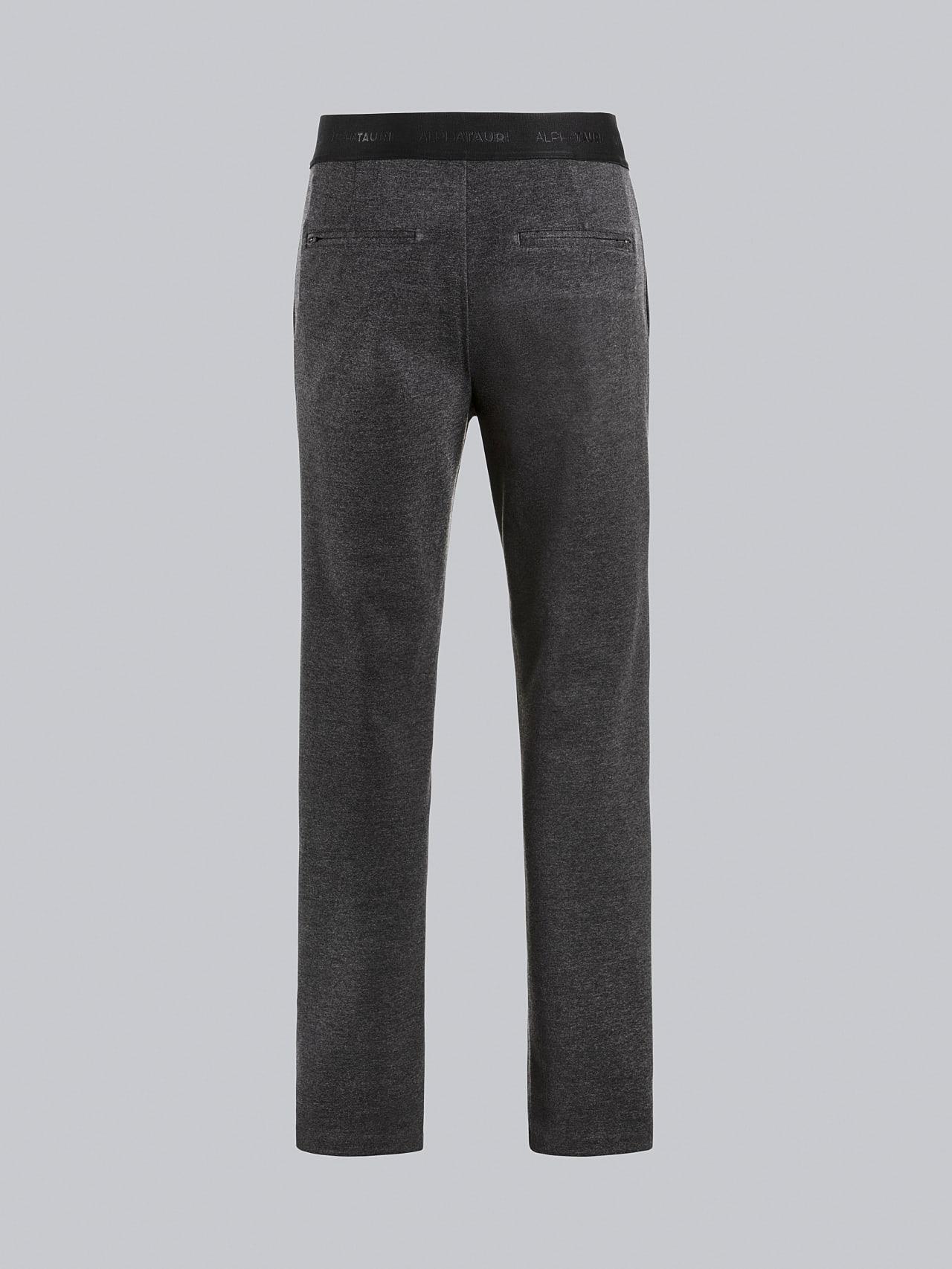 PRINO V2.Y5.02 Cropped Waterproof Sweat Pants dark grey / anthracite Left Alpha Tauri