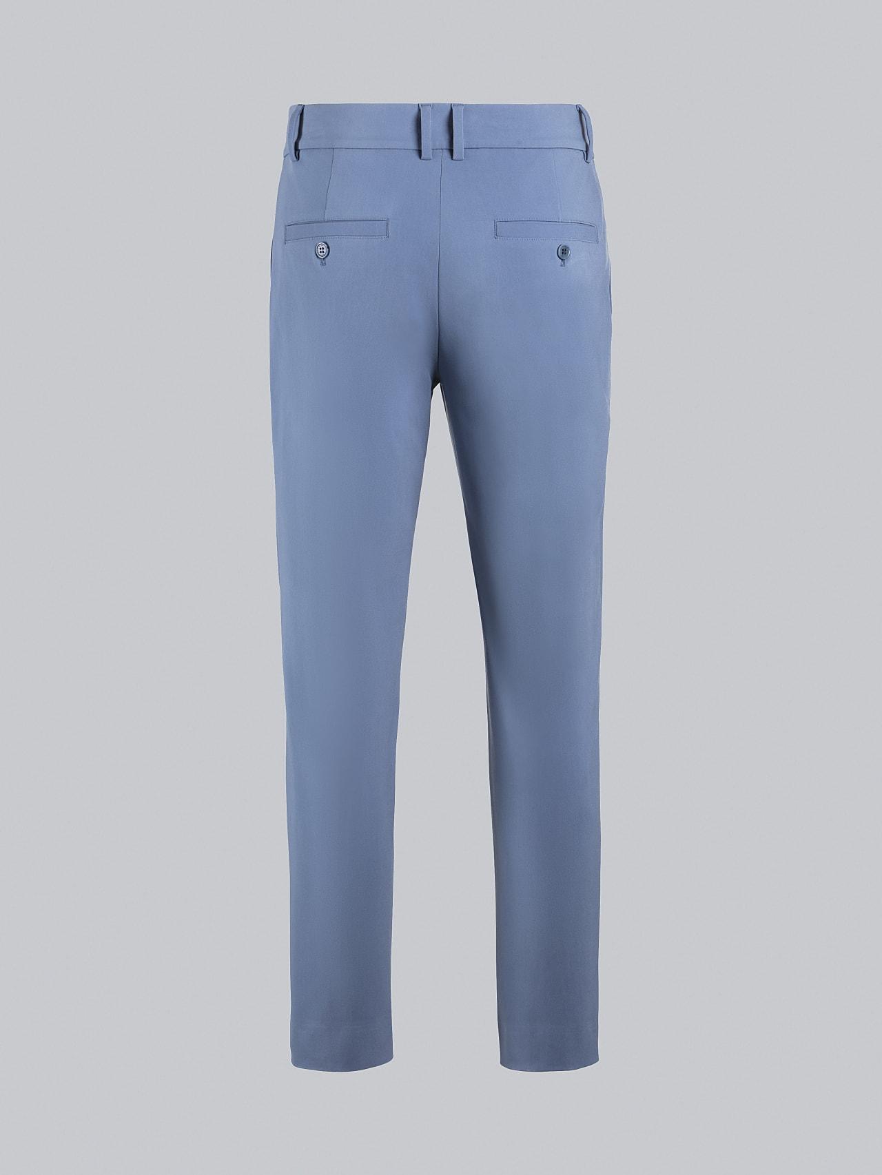 PELAN V1.Y5.02 Tapered Pants with Pleats light blue Left Alpha Tauri