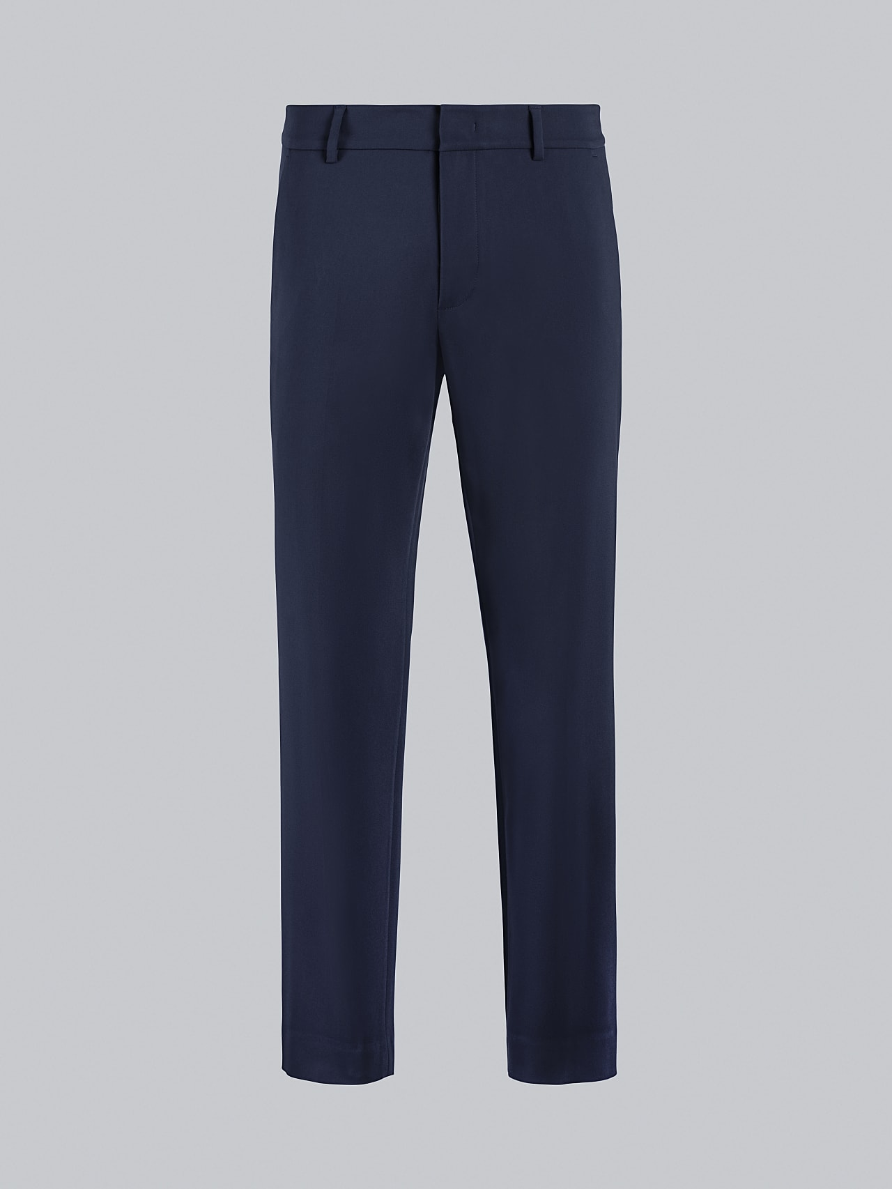 PELAN V1.Y5.02 Tapered Pants with Pleats navy Back Alpha Tauri