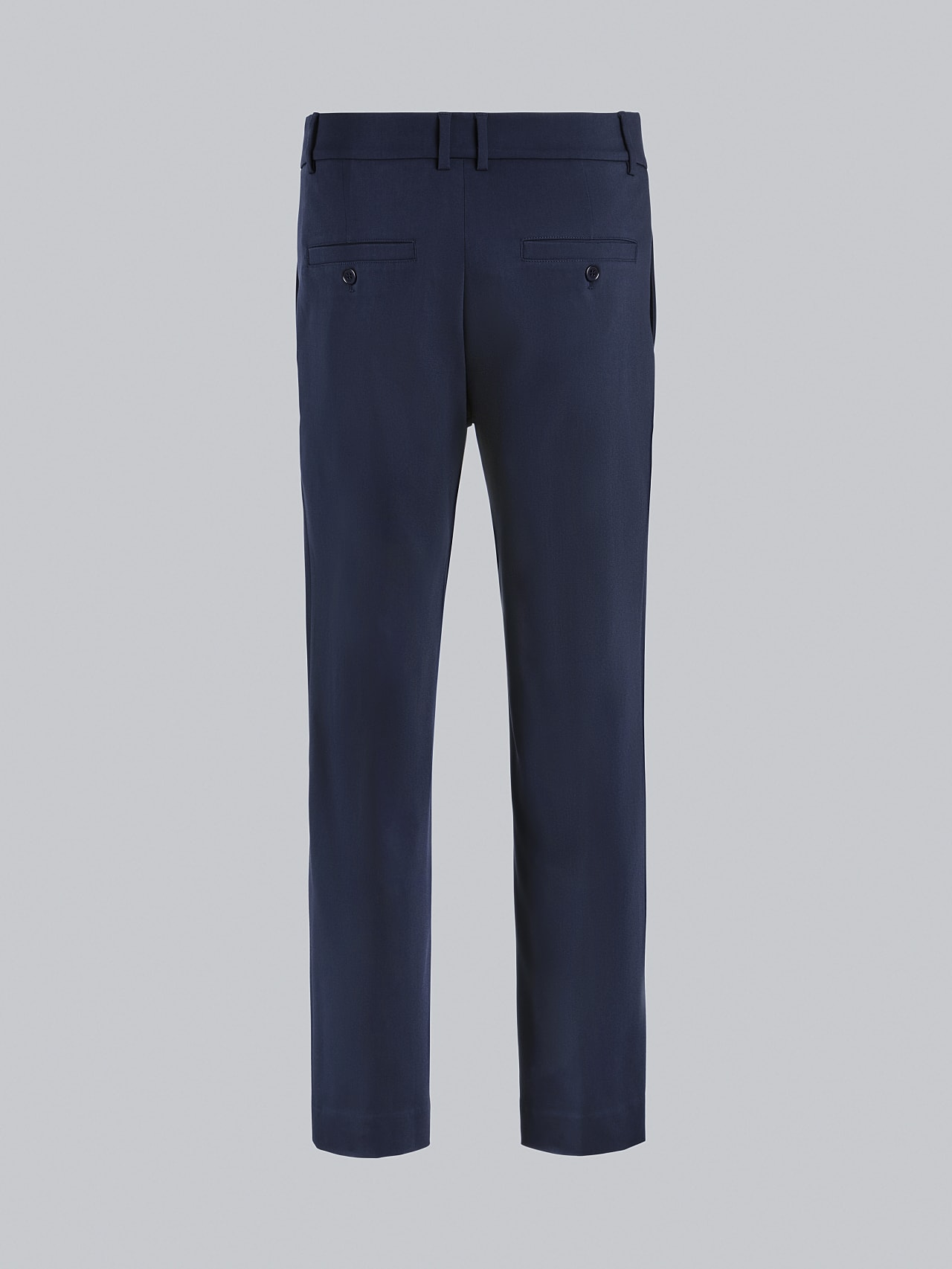 PELAN V1.Y5.02 Tapered Pants with Pleats navy Left Alpha Tauri