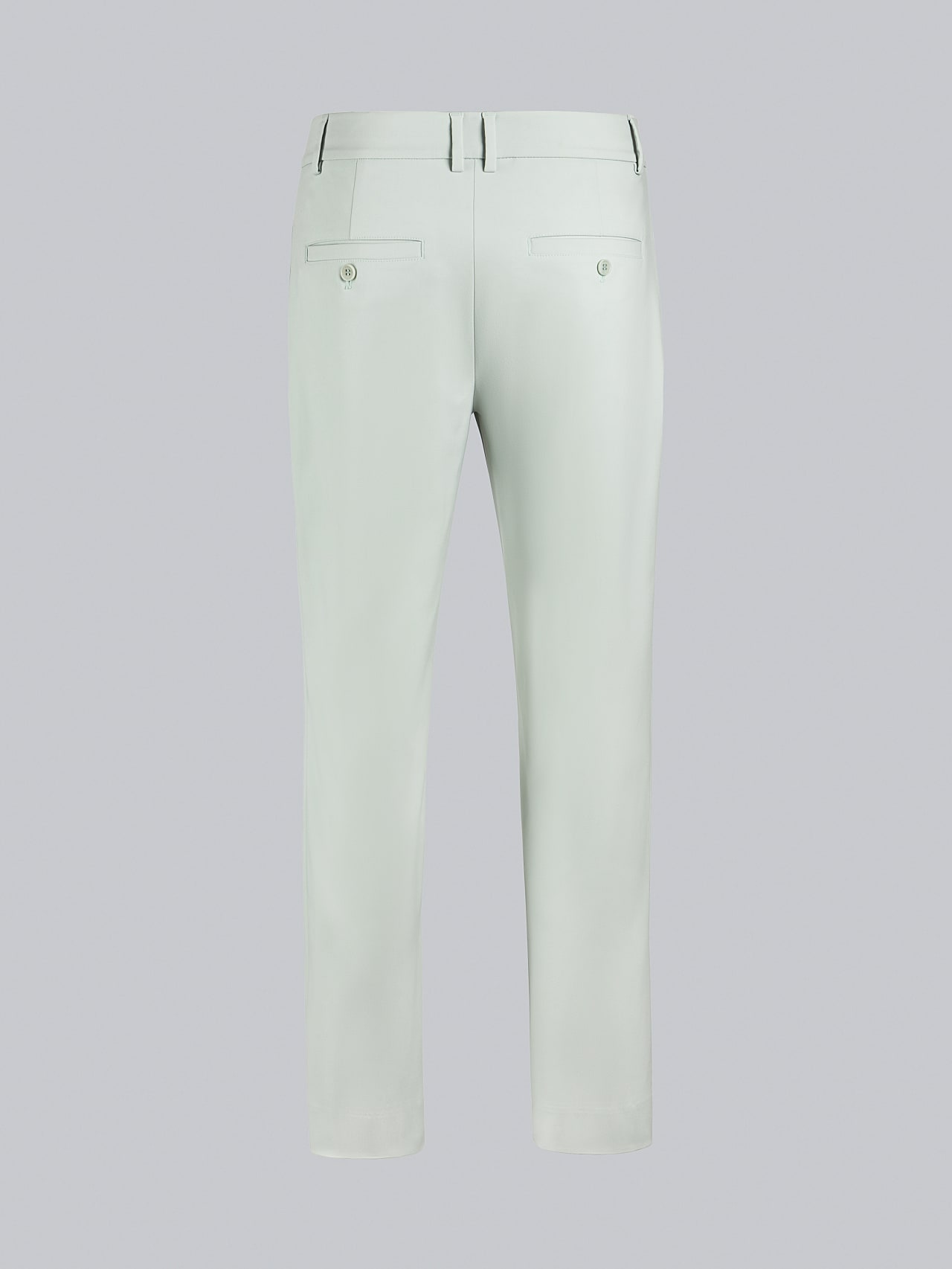 PELAN V1.Y5.02 Tapered Pants with Pleats Pale Blue  Left Alpha Tauri