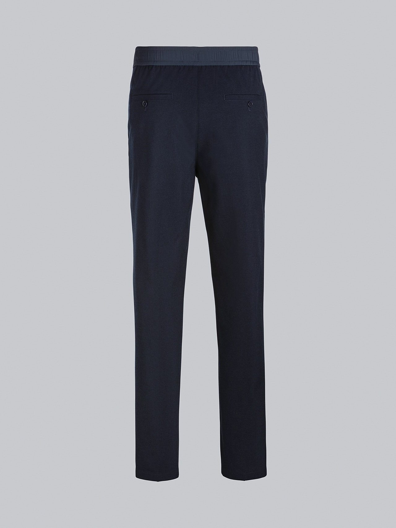 PANZA V1.Y5.02 Slim Pleat Trousers navy Left Alpha Tauri