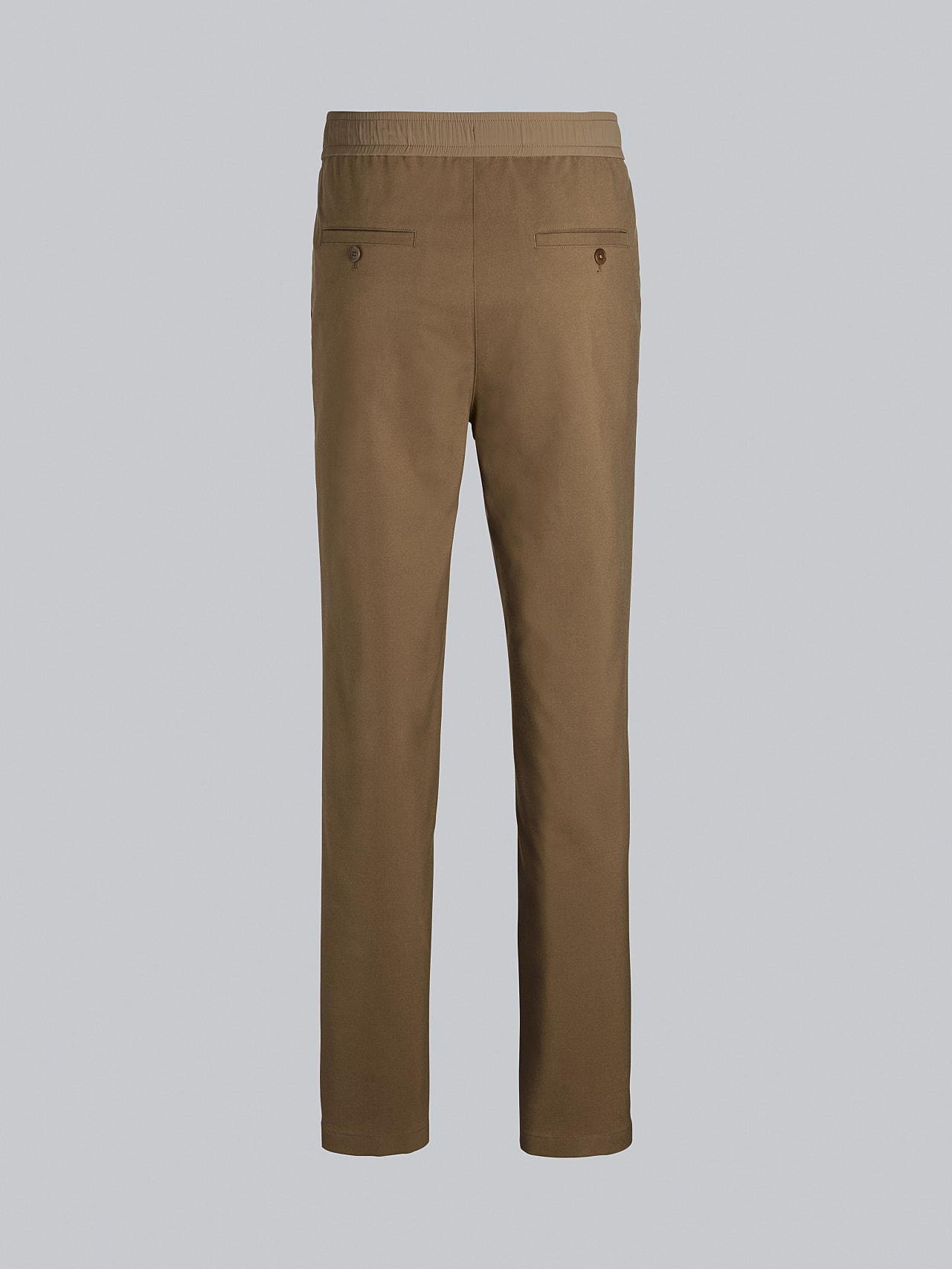 PANZA V1.Y5.02 Slim Pleat Trousers gold Left Alpha Tauri